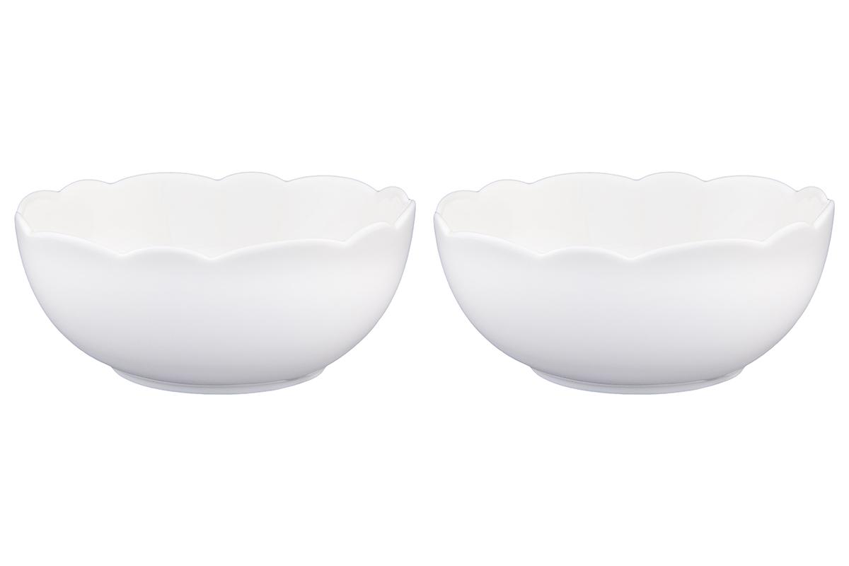 Набор салатников Elan Gallery Айсберг, 500 мл, 2 шт540160У Вас намечается торжество и нужно накрыть большой стол - используйте компактные и вместительные салатники. Они не займут много места и их можно использовать для разных видов салатов, закусок, сладостей. Размер салатника: 14 х 14 х 5,7 см. Объем салатника: 500 мл.