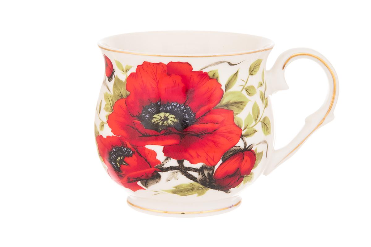 Кружка Elan Gallery Маки, 480 мл кружки elan gallery кружка подарок нежные розы