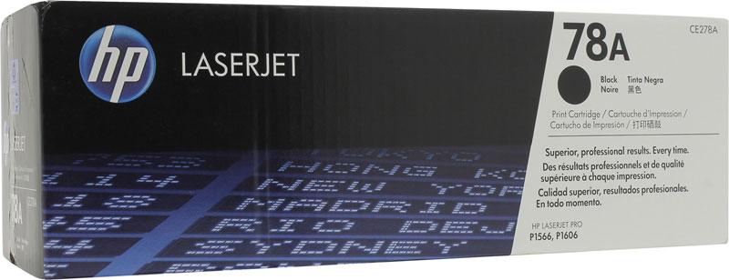 HP CE278A, Black тонер-картридж для LaserJet P1566/P1606dnCE278AКартридж с тонером HP CE278A делает повседневную печать деловой документации более удобной и эффективной. Он обеспечивает удобство печати высококачественных отчетов, писем и счетов.Отличное качество повседневной печати. Проверенные и надежные решения HP позволят сэкономить время, сократить простои и добиться стабильно высоких результатов.Выпускайте четкий, ясно очерченный текст и отчетливые черно-белые изображения. Используя принтеры HP LaserJet с оригинальными картриджами с тонером HP, вы можете быть уверены в неизменно профессиональном качестве печатаемых материалов.Удобство печати, а также управления и утилизации расходных материалов с помощью HP Planet Partners делают работу с принтером проще, чем когда бы то ни было прежде.