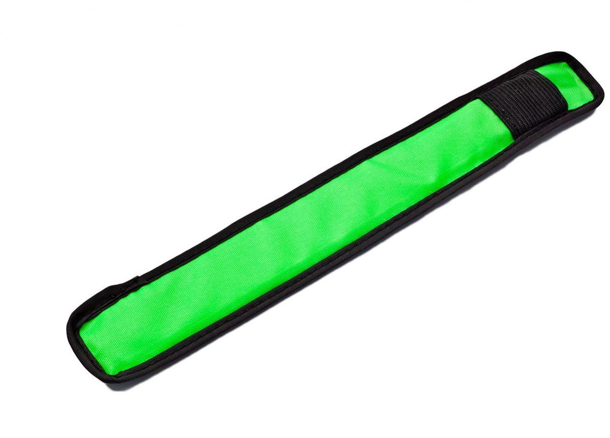 Слэп-лента Bradex, со светодиодной подсветкой, цвет: зеленый, черный