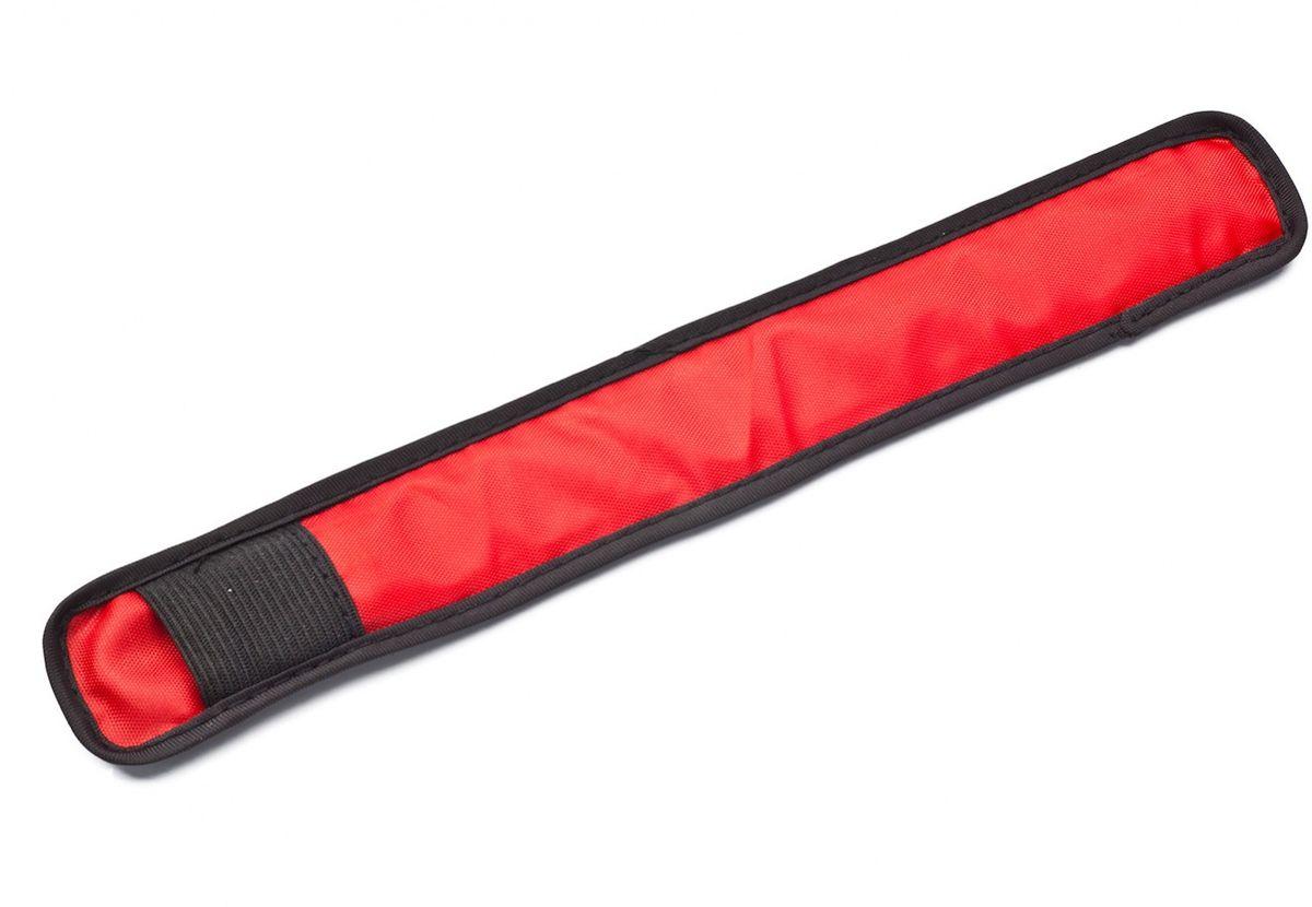 Слэп-лента Bradex, со светодиодной подсветкой, цвет: красный, черныйTD 0442Слэп-лента Bradex подойдет для пешеходов, велосипедистов и роллеров, детей и взрослых, домашних питомцев. Лента со светодиодной подсветкой оповестит водителей авто и других участников движения о вашем присутствии на дороге. Слэп-лента со светодиодной подсветкой работает на батарейках CR2016 и очень экономичен: одна батарейка обеспечит изделию долгие часы работы. Лента со светодиодами обеспечит видимость в темное время суток и поможет предотвратить несчастный случай.Размер: 24 x 3,5 см.