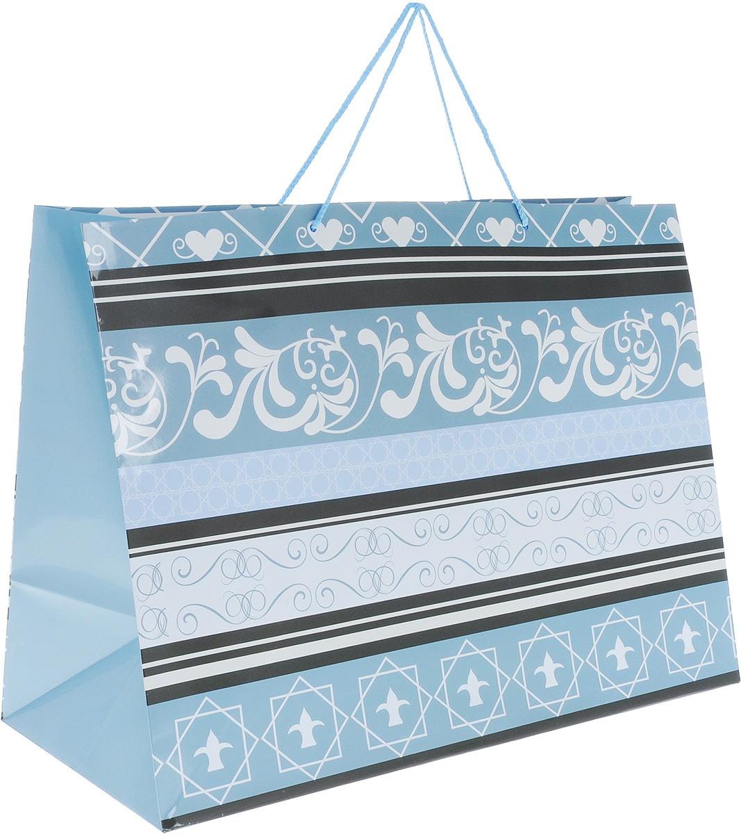 Пакет подарочный МегаМАГ Mix. Узоры, 56 х 41 х 24 см. 924/925 XXLH924/925 XXLH_чёрный,белый,серыйПодарочный пакет МегаМАГ Mix. Узоры, изготовленный из плотной ламинированной бумаги, станет незаменимым дополнением к выбранному подарку. Для удобной переноски на пакете имеются ручки-шнурки.Подарок, преподнесенный в оригинальной упаковке, всегда будет самым эффектным и запоминающимся. Окружите близких людей вниманием и заботой, вручив презент в нарядном, праздничном оформлении.