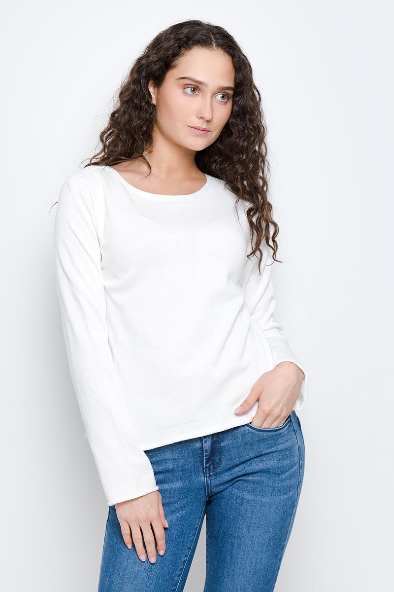 Джемпер женский Tom Tailor Contemporary, цвет: белый. 3022559.00.75_8210. Размер L (48) манекены bu 945280 манекен женский укороченный bu 945280 манекен женский укороченный киев