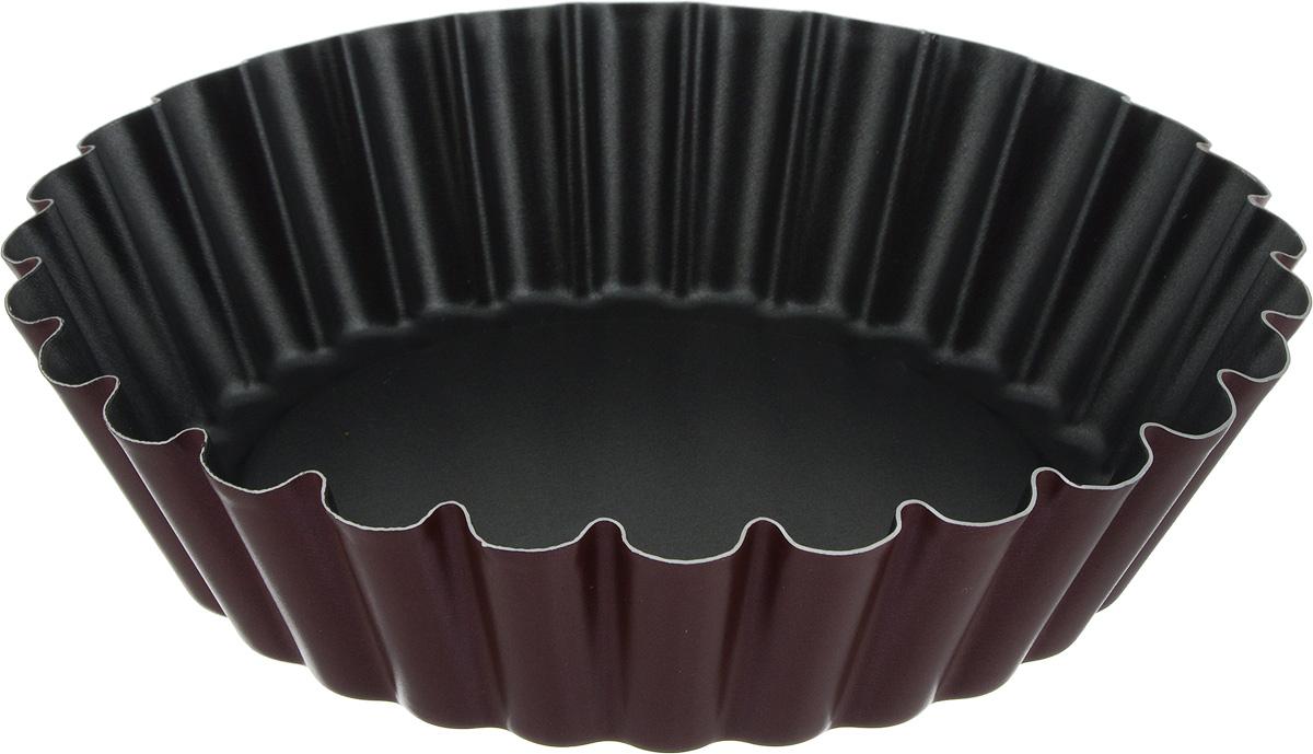 Тортница Scovo Забава, круглая, с антипригарным покрытием. Диаметр 24 смRZ-052/RF-052Тортница  Scovo Забава выполнена из алюминия с антипригарным покрытием. Материал не содержит PFOA, соединений свинца и кадмия. Благодаря покрытию выпечка не пристает к стенкам формы и сохраняет идеально форму, когда вы достаете ее. Форма Scovo Забава будет идеальным выбором для всех любителей бисквитов, кексов и тортов. Эта форма создана, чтобы пробуждать кулинарную фантазию и удовлетворять творческие кулинарные порывы. Подходит для использования на электрической и газовой плитах, а также в духовке. Можно мыть в посудомоечной машине. Высота стенки: 5,5 см.