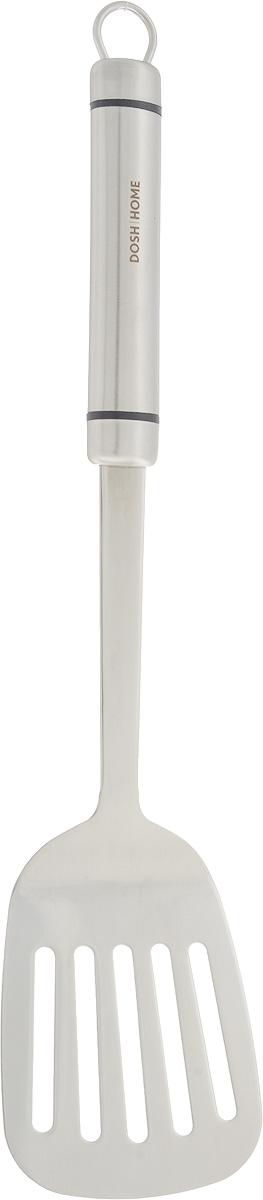 Лопатка кухонная Dosh Home Orion, длина 36 см100103Кухонная лопатка Dosh Home Orion, выполненная из нержавеющей стали, подходит для работы с горячими продуктами. Ручка оснащена отверстием, за которое вы сможете подвесить изделие в любое удобное для вас место. Лопатка Dosh Home Orion займет достойное место средиаксессуаров на вашей кухне. Не рекомендуется мыть в посудомоечной машине.Общая длина: 36 см.Размер рабочей поверхности: 9,2 х 7,8 см.