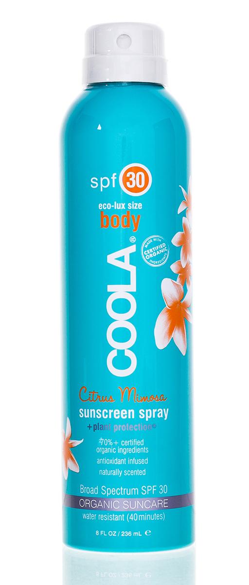 Coola Suncare Солнцезащитный спрей для лица и тела Мимоза SPF30 236 мл