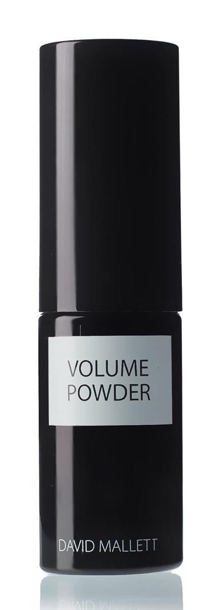 David Mallett Пудра для придания объема волосам 7,5 гр9063167Пудра с максимально облегченной формулой, благодаря которой не утяжеляя волосы, делает их пышными, сильными, мягкими, легко поддающимися укладке. Она имеет тонкий аромат зеленого чая и не содержит аллергенов. Способ применения данного продукта также необычен: легкая воздушная пудра наносится как жидкое средство. Флакон карманного размера с помпой позволяет легко распылить пудру на волосы и создать желаемый объем.