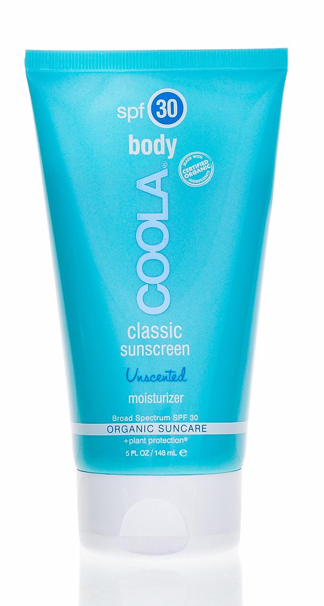 Coola Suncare Солнцезащитный крем для тела увлажняющий без запаха SPF30 148 мл