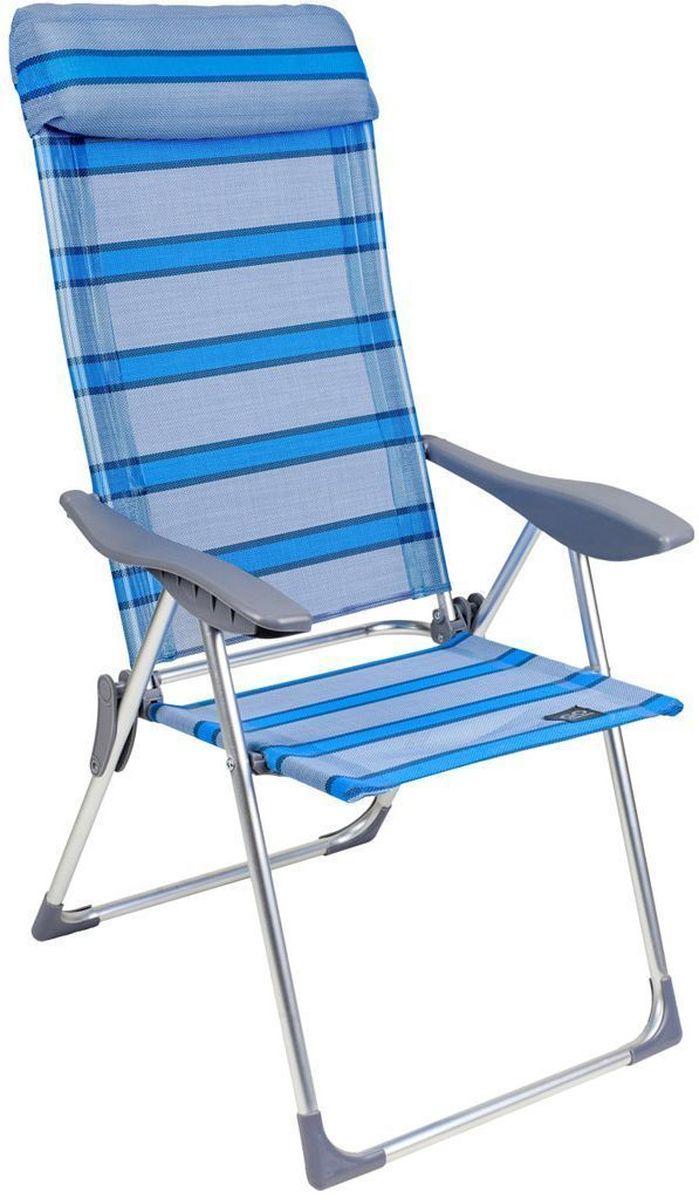 Кресло складное GoGarden Sunday, 5-позиционная регулировка, 69 х 60 х 109 см50324Садовое кресло GoGarden Sunday с высокой спинкой несмотря на достаточно большой размер очень легкое, всего 3,5 кг. 5 позиций регулировки позволяют изменять наклон спинки кресла по вашему желанию. В максимально разложенном состоянии вы почти лежите.Анатомическая конструкция кресла и мягкий подголовник обеспечивают хорошую поддержку спины и головы.Широкое комфортное сиденье, удобные подлокотники из высококачественного пластика, фурнитура отличного качества.Материал сиденья TEXTILENE устойчив к ультрафиолетовому излучению и образованию плесени. Благодаря своей структуре материал не впитывает влагу, быстро сохнет и очень простой в уходе. Кресло можно хранить на открытом воздухе в течение всего сезона.Сиденье не имеет поперечной рамы, что обеспечивает комфорт при длительном использовании.Конструкция ножек препятствует проваливанию кресла в землю и песок. Рама кресла выполнена из высококачественного 22/19 алюминия. В сложенном состоянии кресло не занимает много места.Размер в разложенном виде: 69 х 60 х 109 см.Размер в сложенном виде: 99 х 59 х 6 см.Вес: 3,55 кг. Максимальная нагрузка: 100 кг.