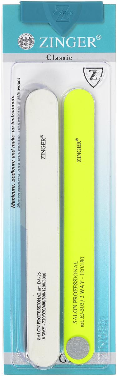 Zinger Набор пилок zo-SIS-23, цвет: салатовый10712_салатовыйZinger Набор пилок zo-SIS-23, цвет: салатовый