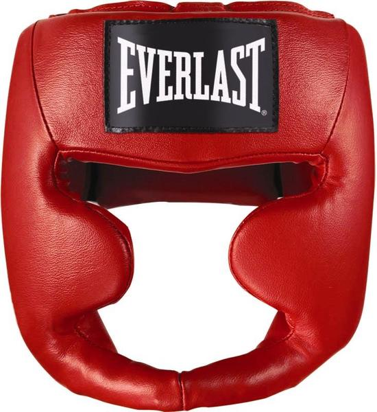 Шлем боксерский Everlast Martial Arts Leather Full Face, цвет: красный. Размер S/M health product knee pain relief rheumatoid arthritis treatment device with 4 function home care