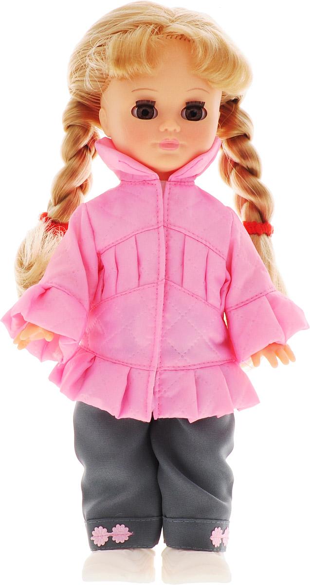 Весна Кукла озвученная Олеся цвет одежды розовый серый весна кукла озвученная оля цвет одежды белый розовый голубой