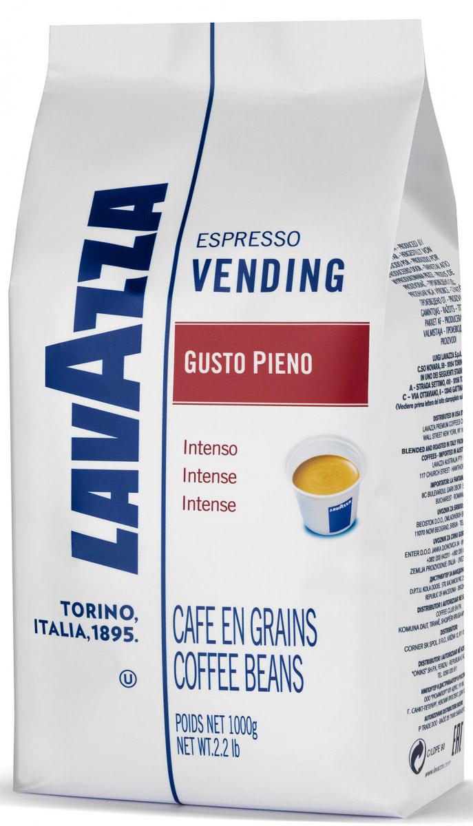 Lavazza Gusto Pieno кофе в зернах, 1 кг8000070043381Lavazza в зернах Espresso Vending Gusto Piena - изысканная смесь, произведенная из робусты и арабики. Душистый аромат итальянского кофе поможет взбодриться утром и восстановить силы после долгого рабочего дня. Кофе заваривается крепким и насыщенным, каждая капля ароматного и выразительного напитка оставит приятное стойкое послевкусие, а нежный совершенный вкус с шоколадными нотками, который достигается благодаря средней обжарке, не оставит равнодушным ни одного человека, влюбленного в кофе. Изысканная композиция подобрана так, чтобы передать все оттенки яркого и насыщенного вкуса. Кофе подходит для всех типов кофемашин.Уважаемые клиенты! Обращаем ваше внимание на то, что упаковка может иметь несколько видов дизайна. Поставка осуществляется в зависимости от наличия на складе.