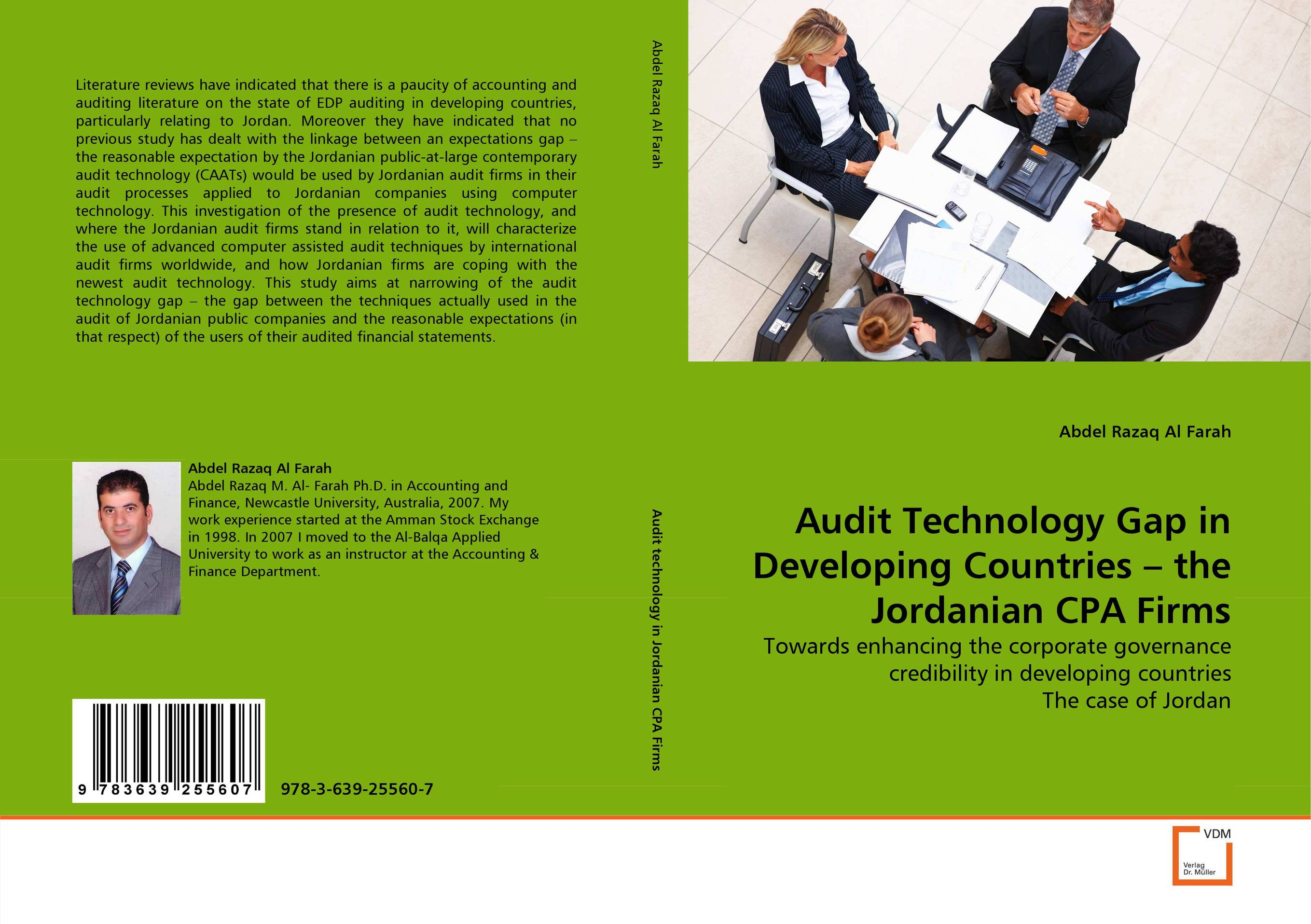 Audit Technology Gap in Developing Countries – the Jordanian CPA Firms