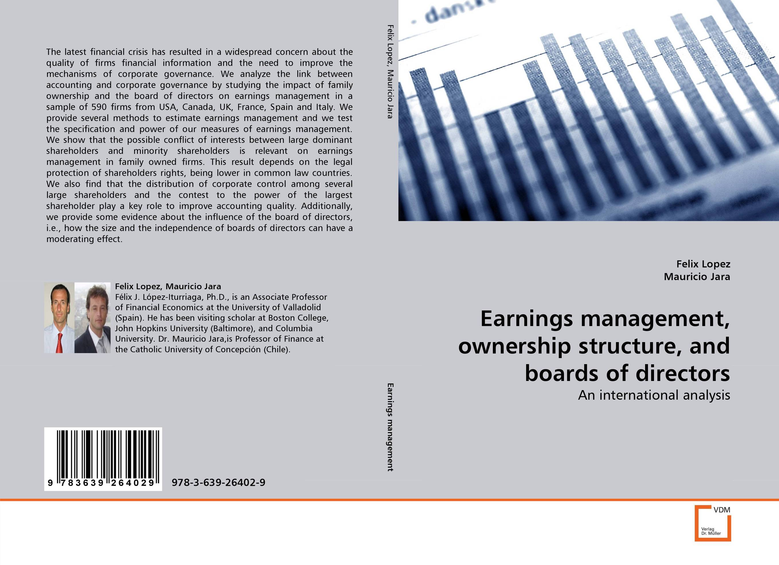 Earnings management, ownership structure, and boards of directors corporate governance audit quality and opportunistic earnings