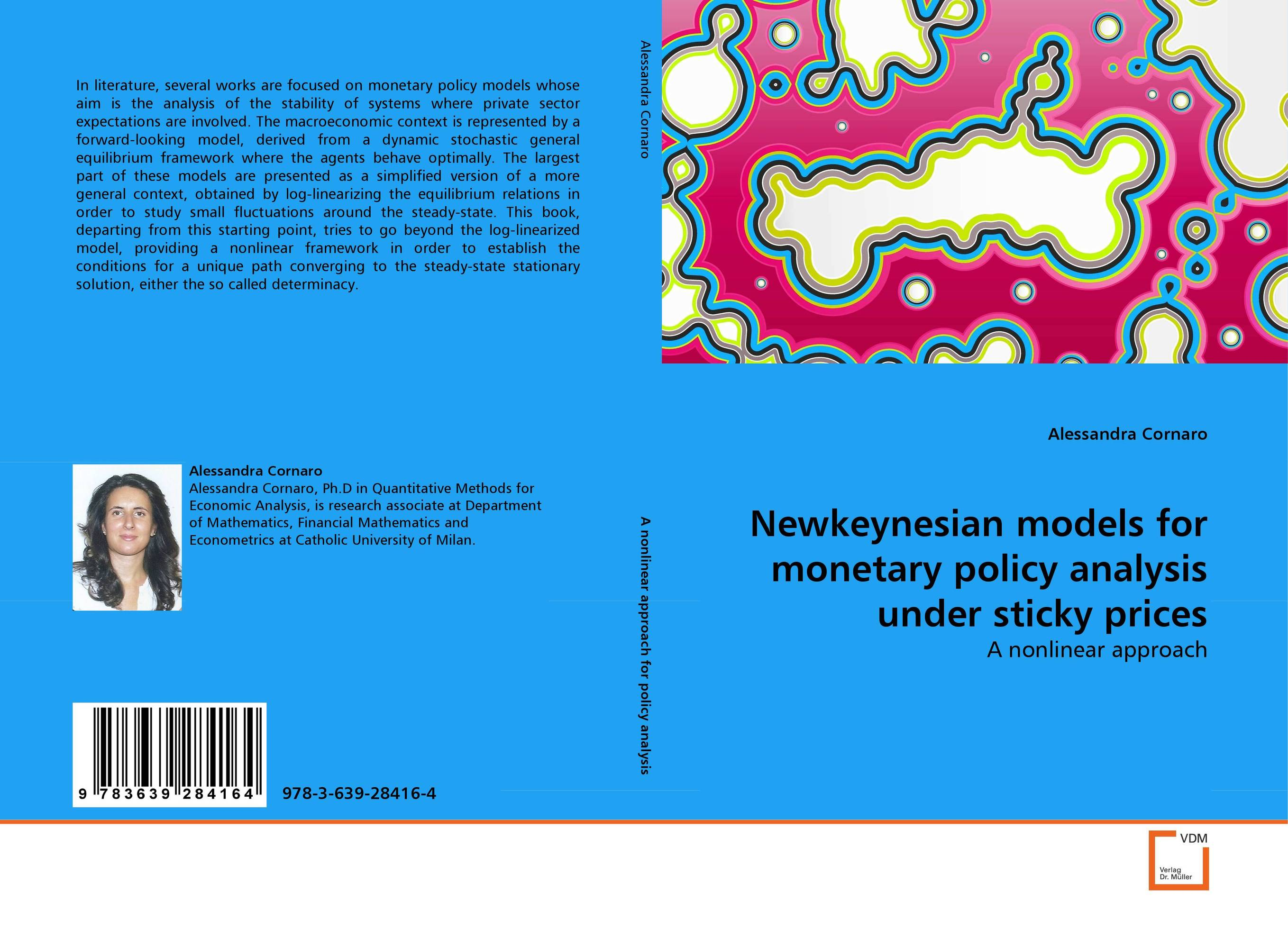 Newkeynesian models for monetary policy analysis under sticky prices