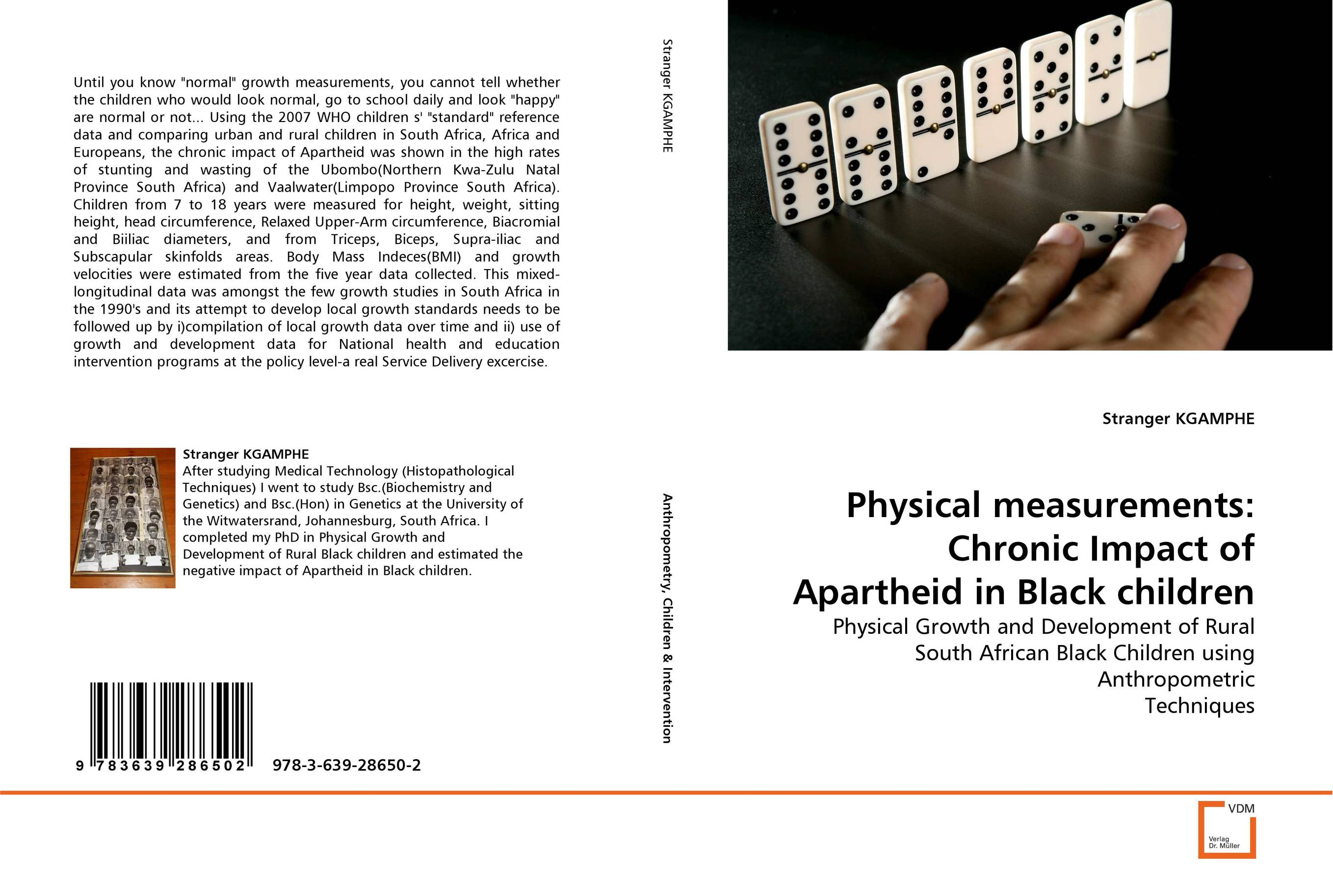 Physical measurements: Chronic Impact of Apartheid in Black children arcade ndoricimpa inflation output growth and their uncertainties in south africa empirical evidence from an asymmetric multivariate garch m model