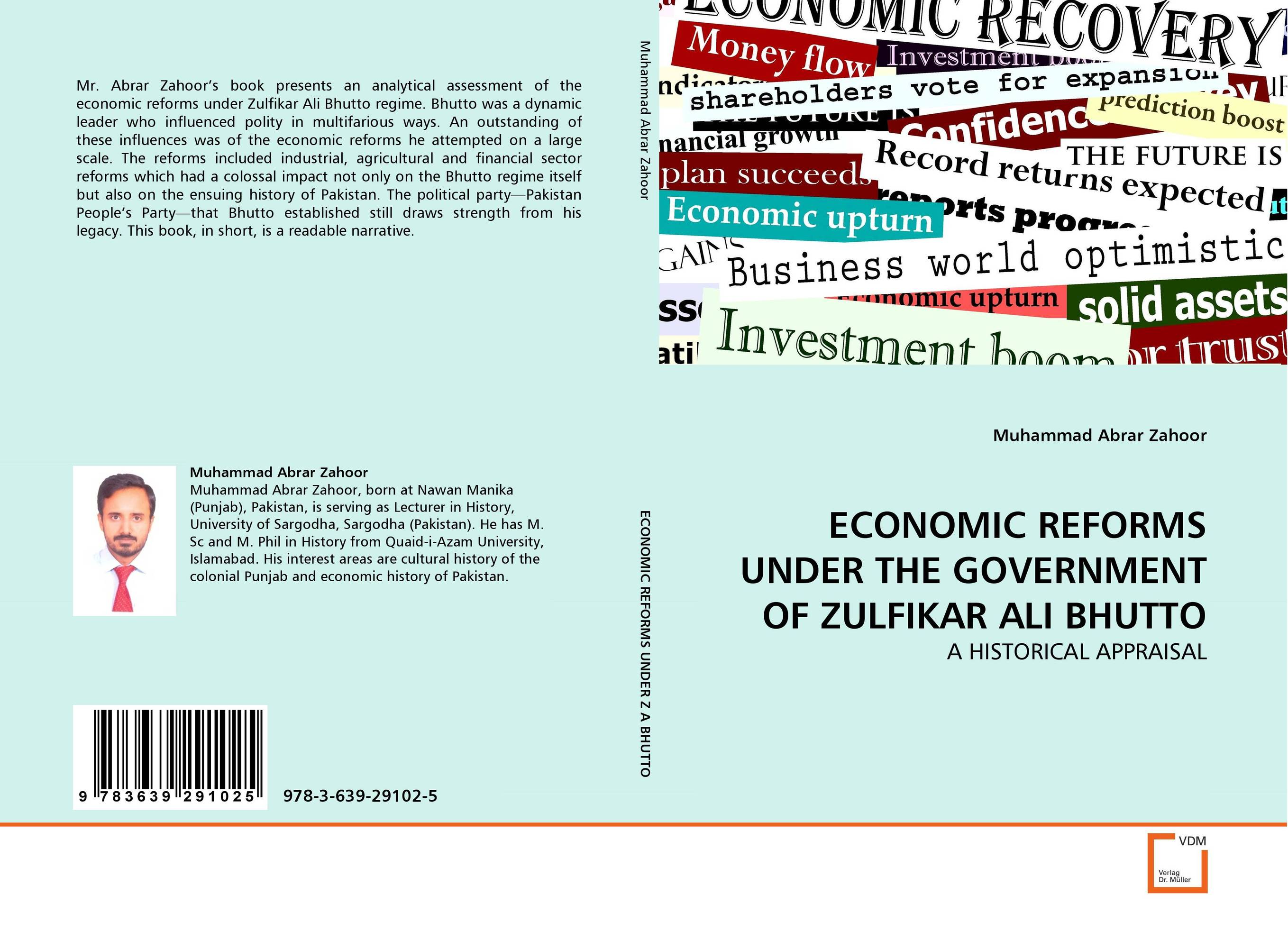 ECONOMIC REFORMS UNDER THE GOVERNMENT OF ZULFIKAR ALI BHUTTO the failure of economic nationalism in slovenia s transition