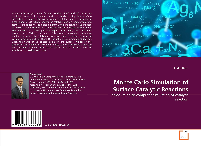 Monte Carlo Simulation of Surface Catalytic Reactions hot assessment guidance model for hemostatic of surface blutpunkte surface bleeding point hemostasis model
