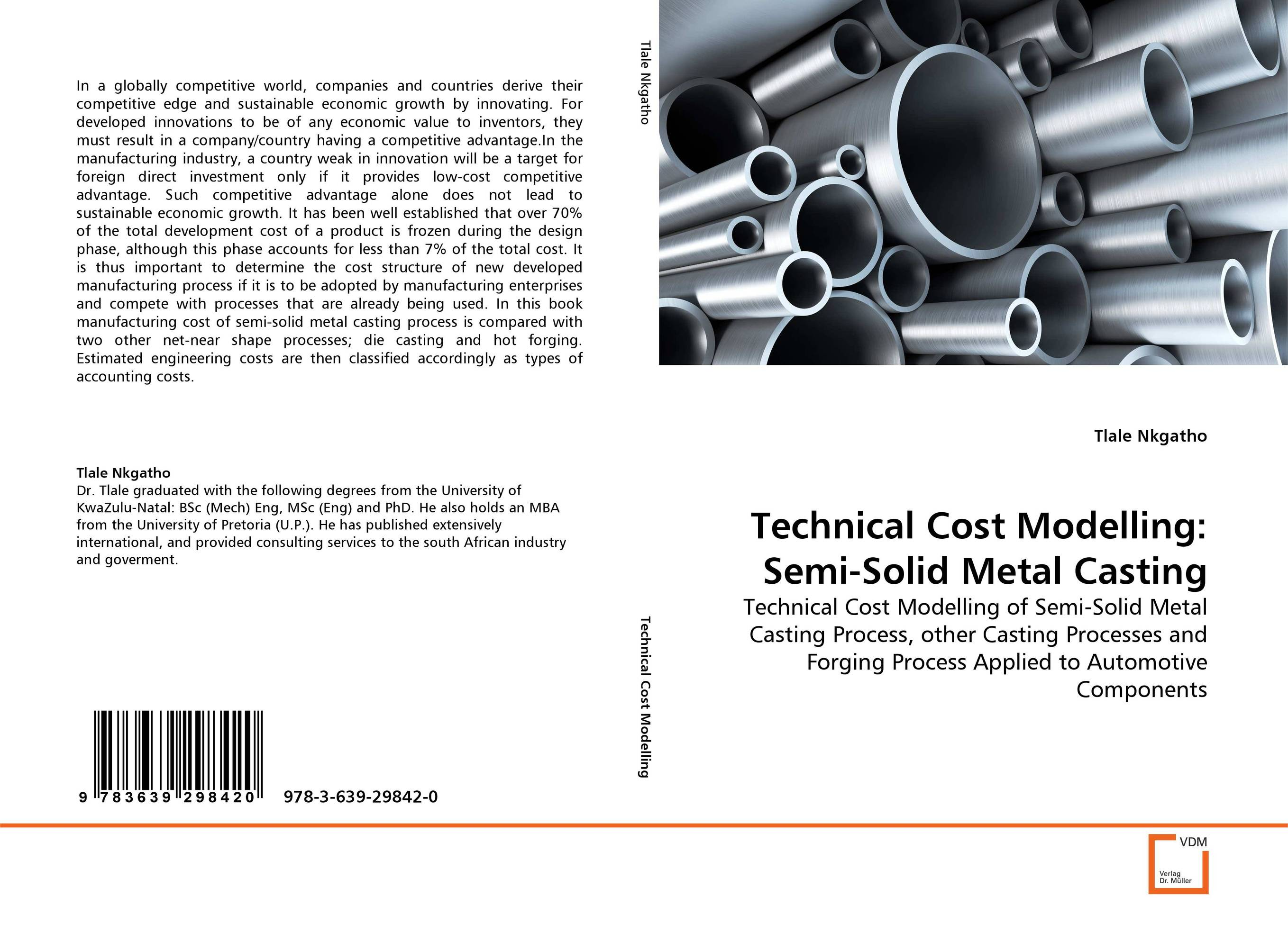 Technical Cost Modelling: Semi-Solid Metal Casting