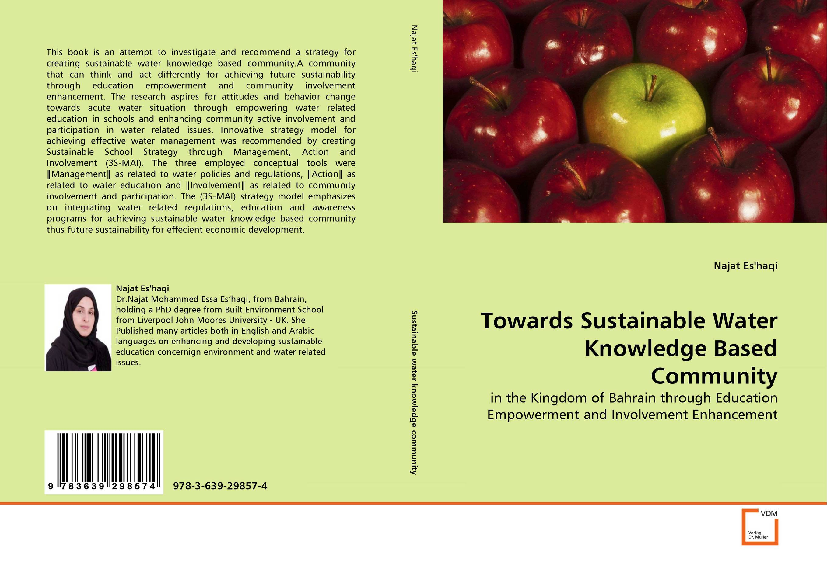 Towards Sustainable Water Knowledge Based Community knowledge management strategy