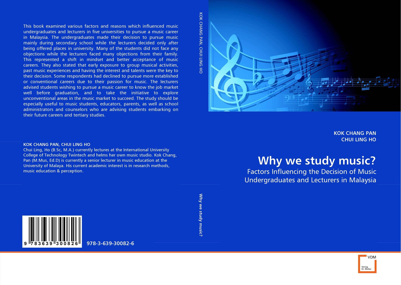 Why we study music?