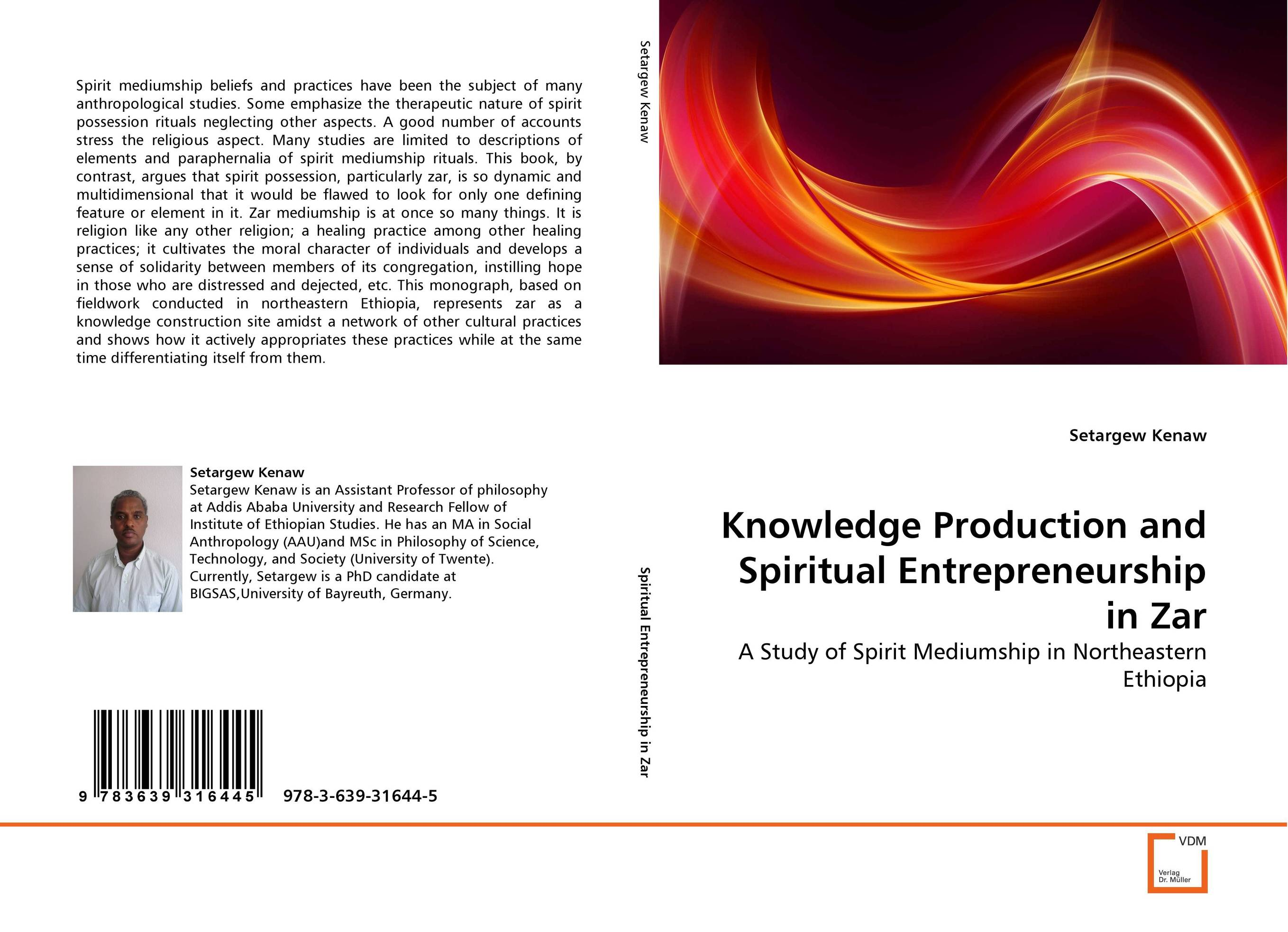 Knowledge Production and Spiritual Entrepreneurship in Zar
