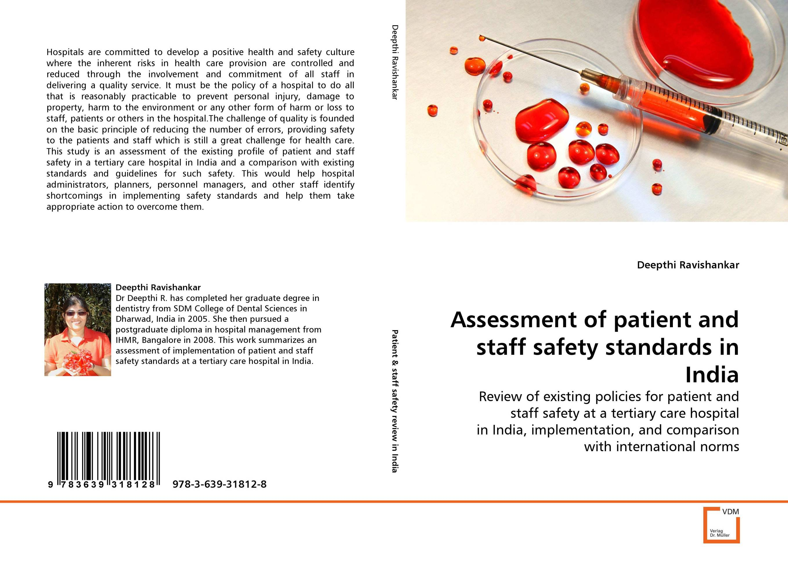 Assessment of patient and staff safety standards in India assessment of patient and staff safety standards in india