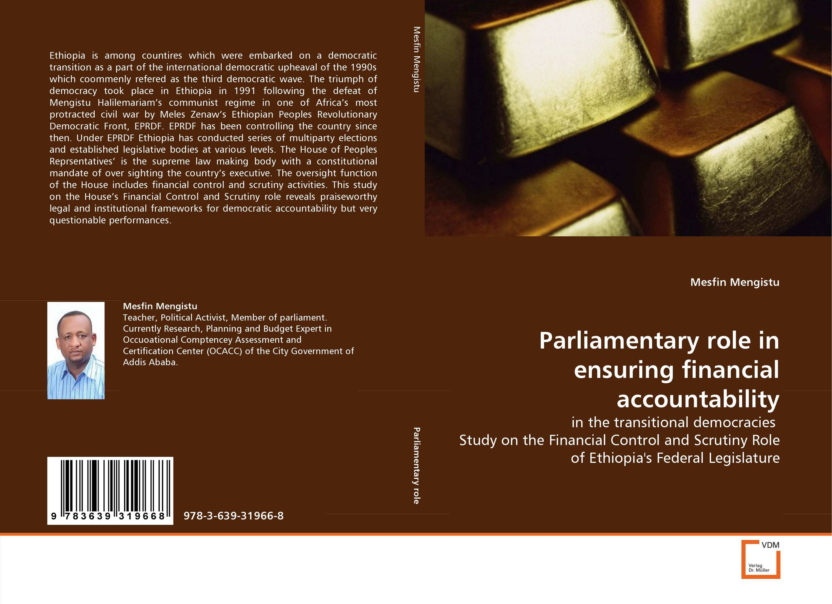 Parliamentary role in ensuring financial accountability fabian amtenbrink the democratic accountability of central banks