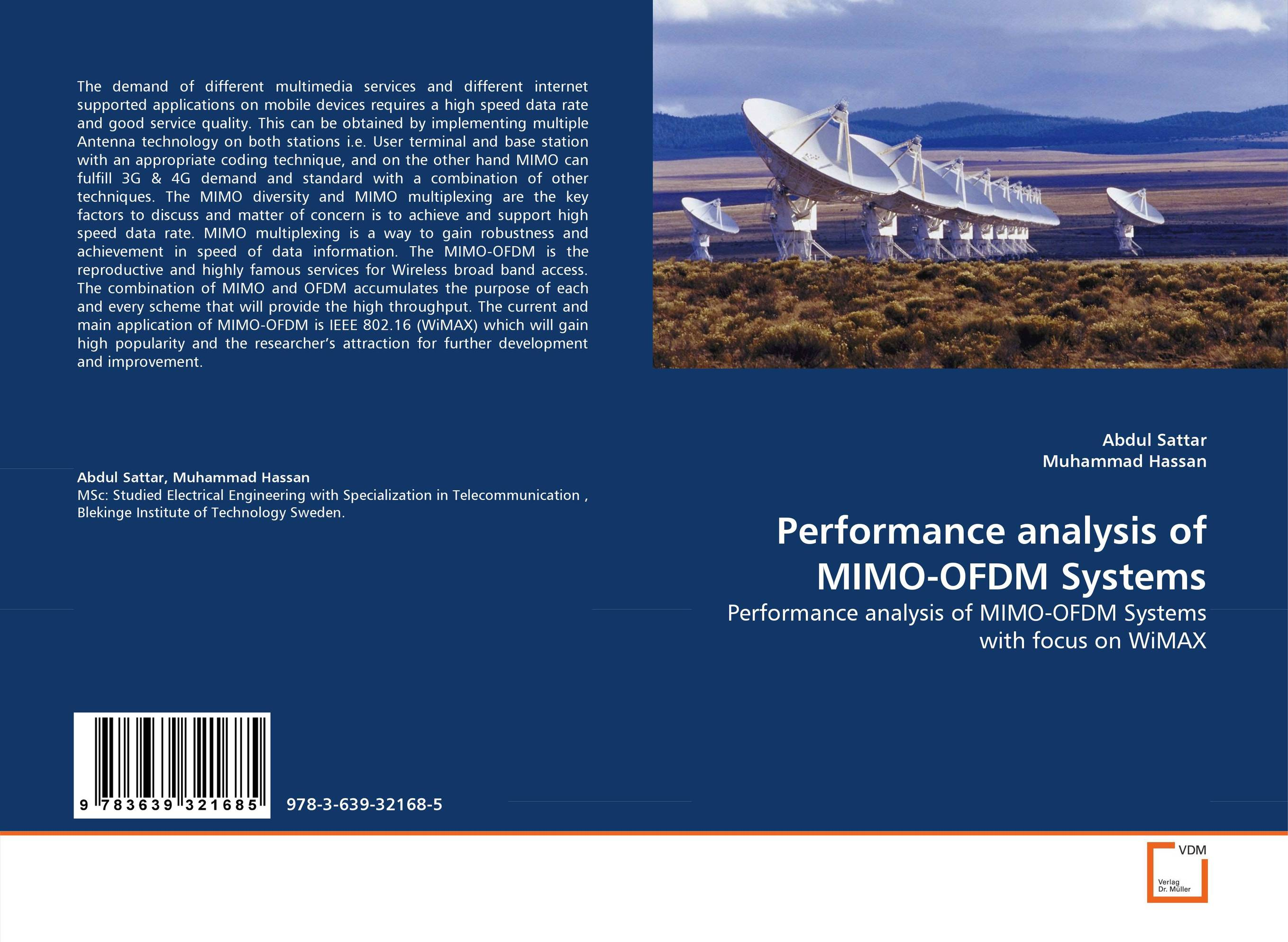 Performance analysis of MIMO-OFDM Systems