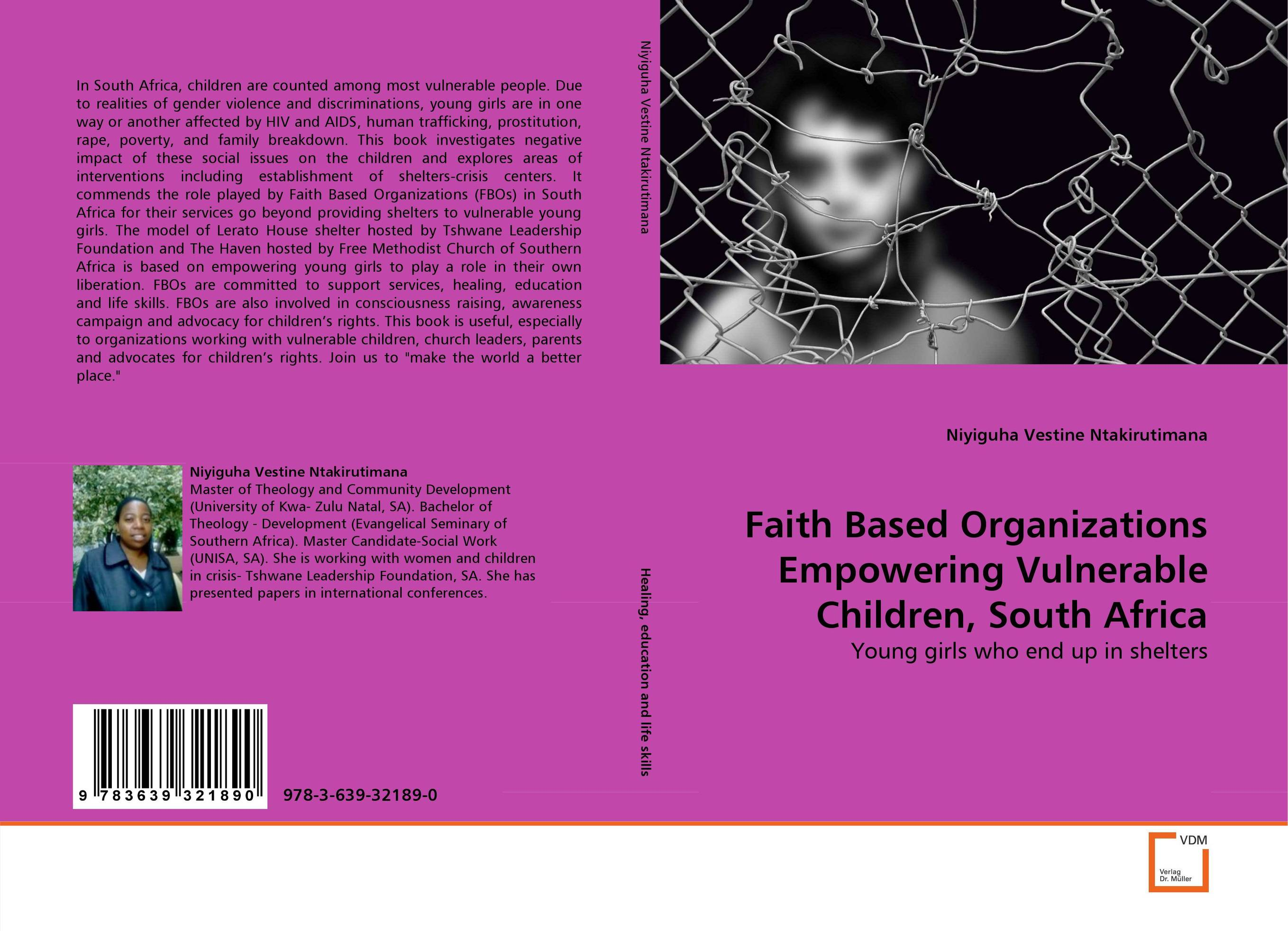 Faith Based Organizations Empowering Vulnerable Children, South Africa education of vulnerable children