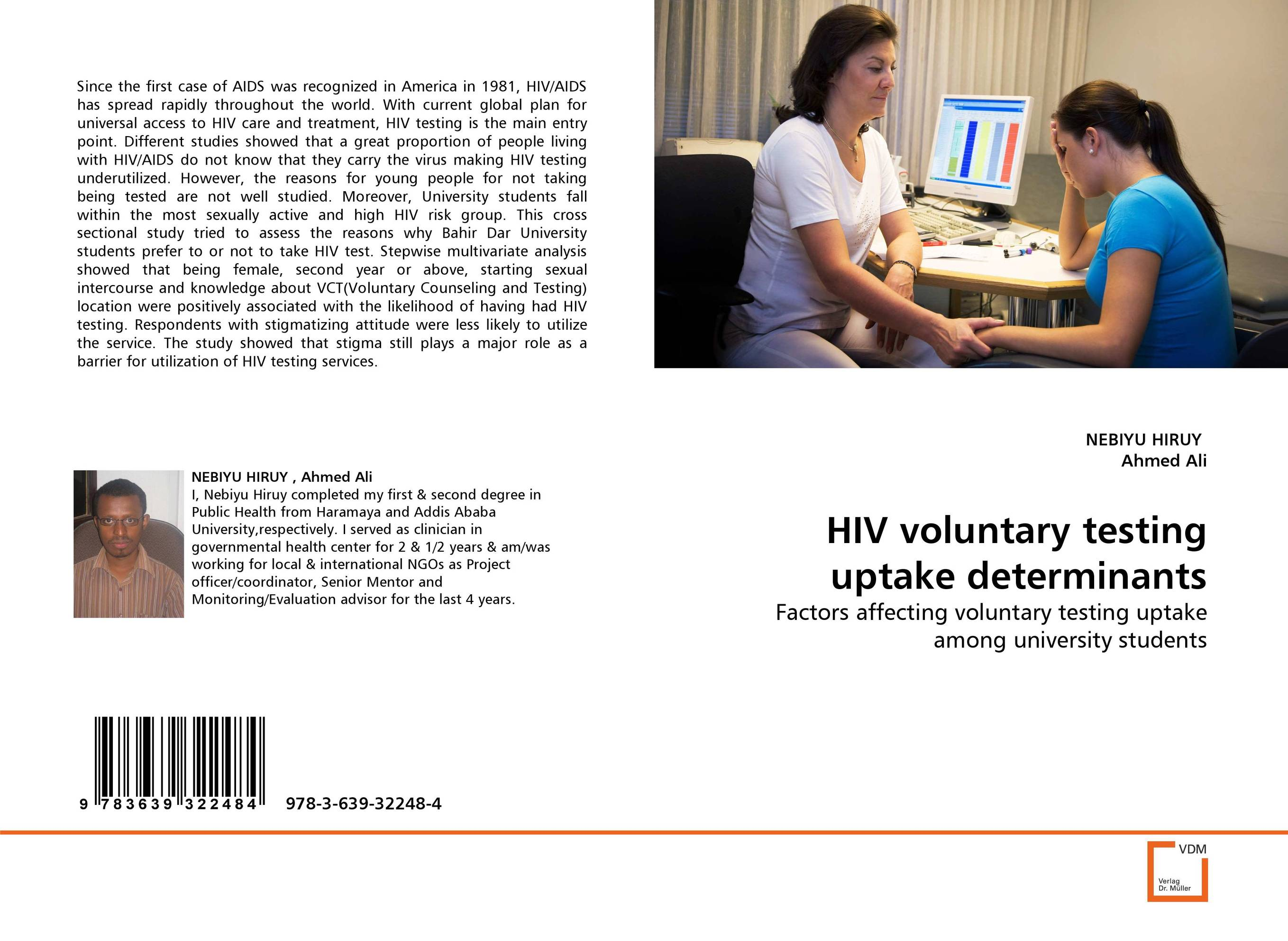 HIV voluntary testing uptake determinants assessment of anc clients willingness for hiv counseling and testing