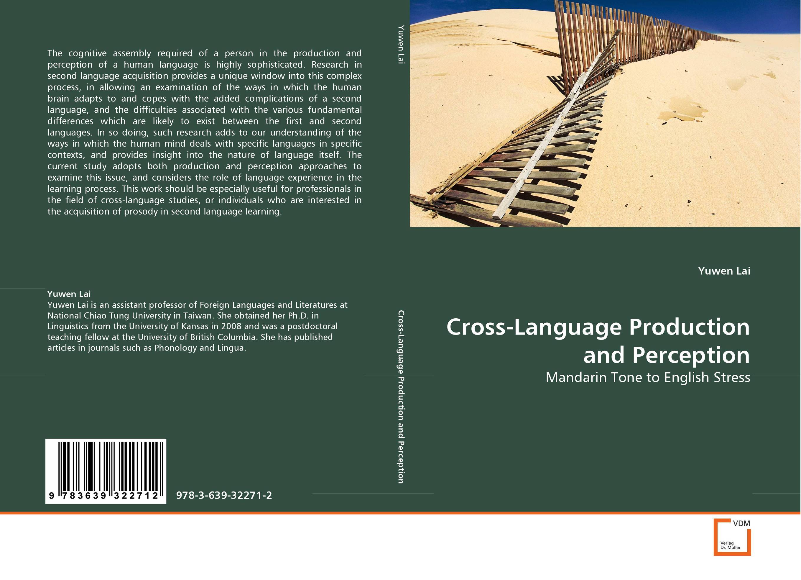 Cross-Language Production and Perception zoltan dornyei the psychology of second language acquisition