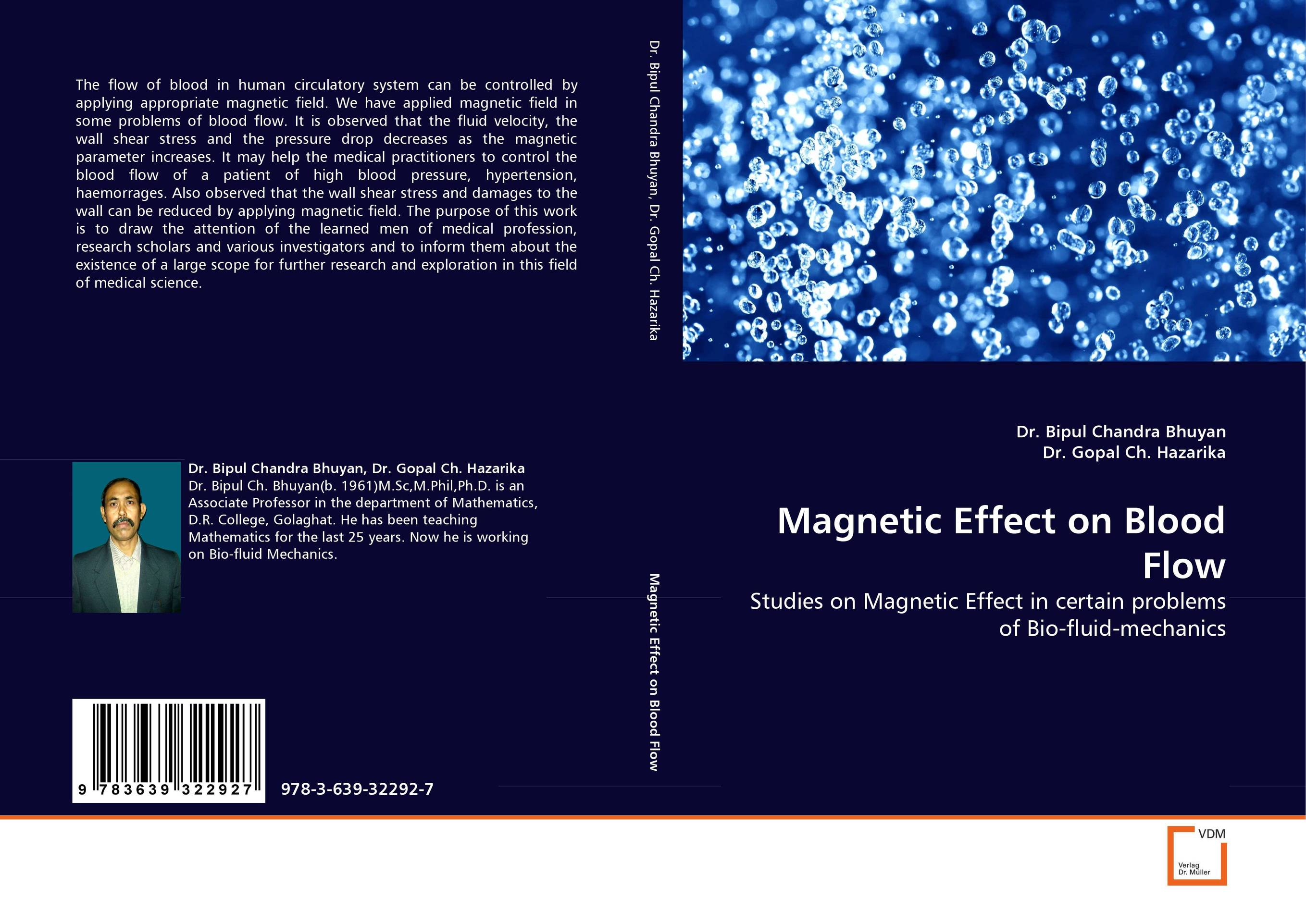 Magnetic Effect on Blood Flow