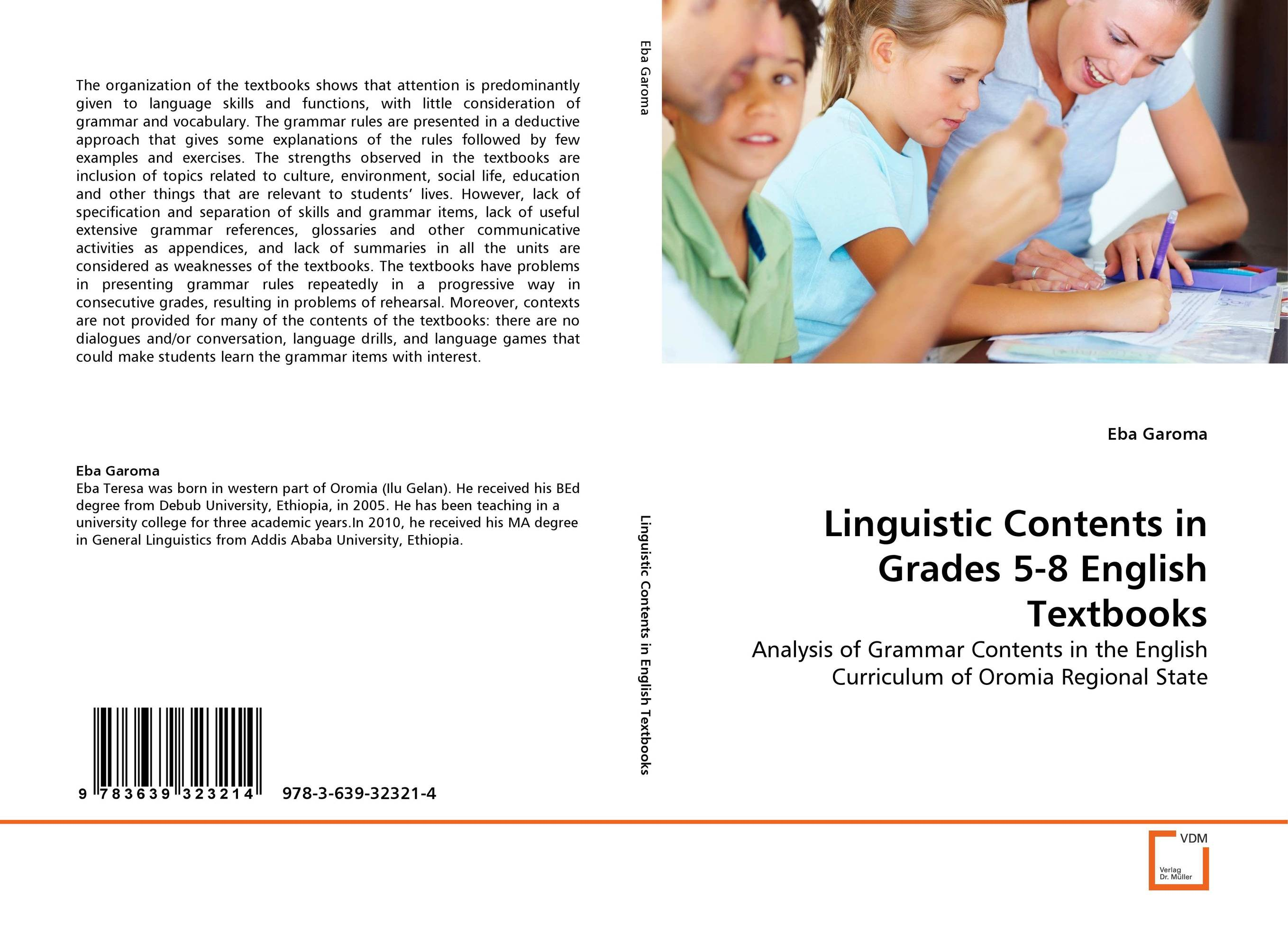 Linguistic Contents in Grades 5-8 English Textbooks linguistic variation in a multilingual setting