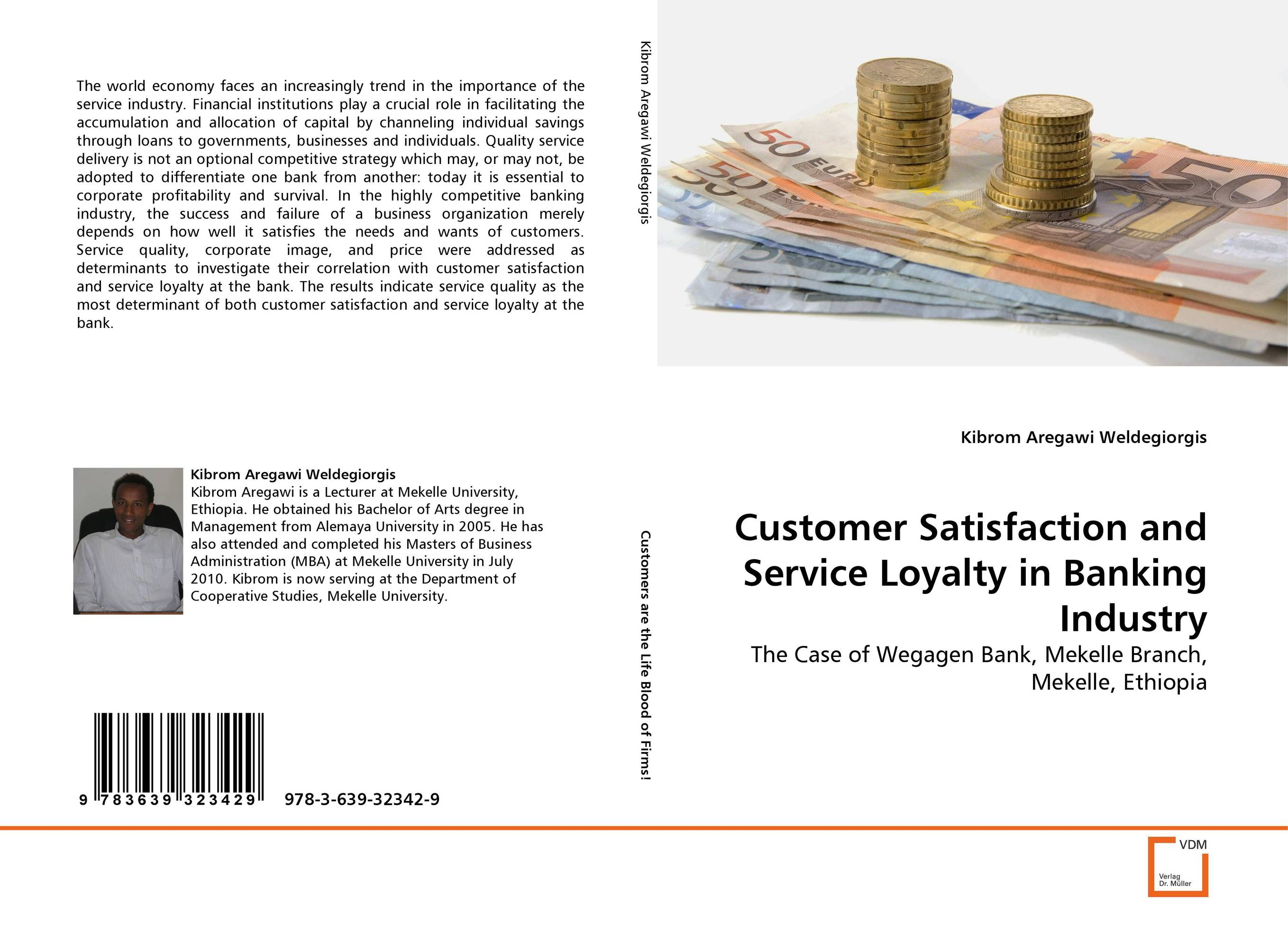 цены Customer Satisfaction and Service Loyalty in Banking Industry
