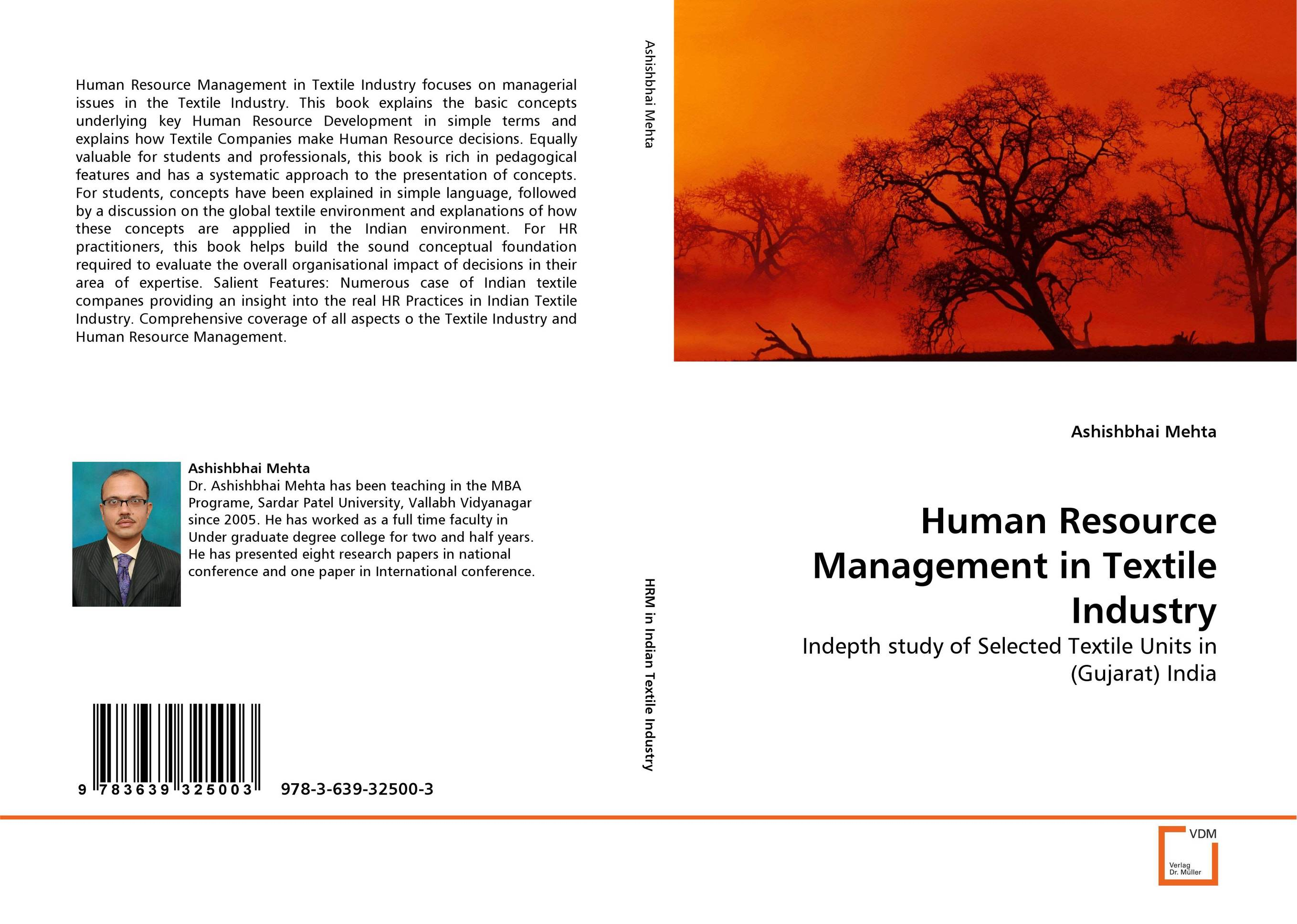 Human Resource Management in Textile Industry v ramesh babu development of textile industry