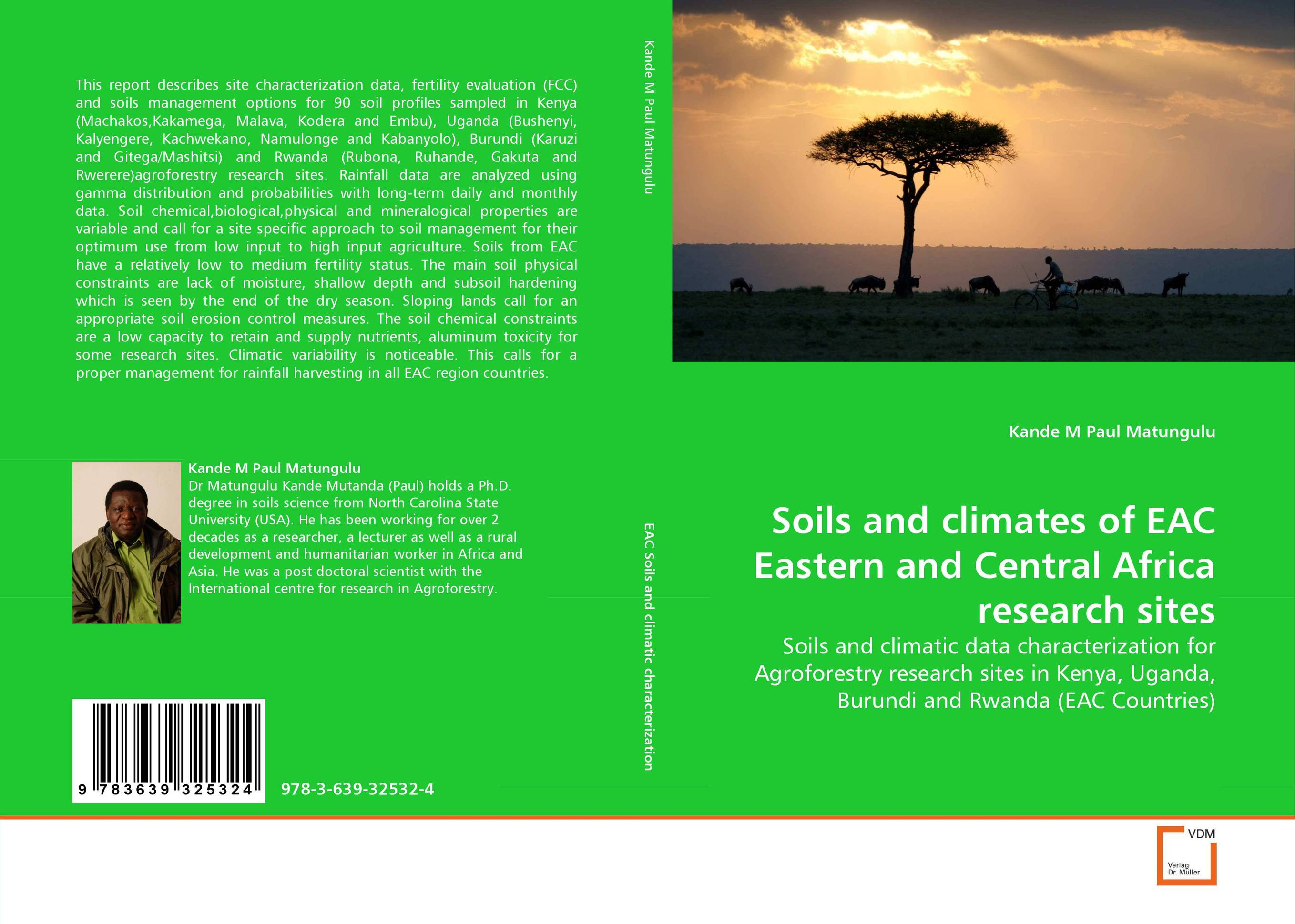 Soils and climates of EAC Eastern and Central Africa research sites evaluation of library web sites of select institute of management