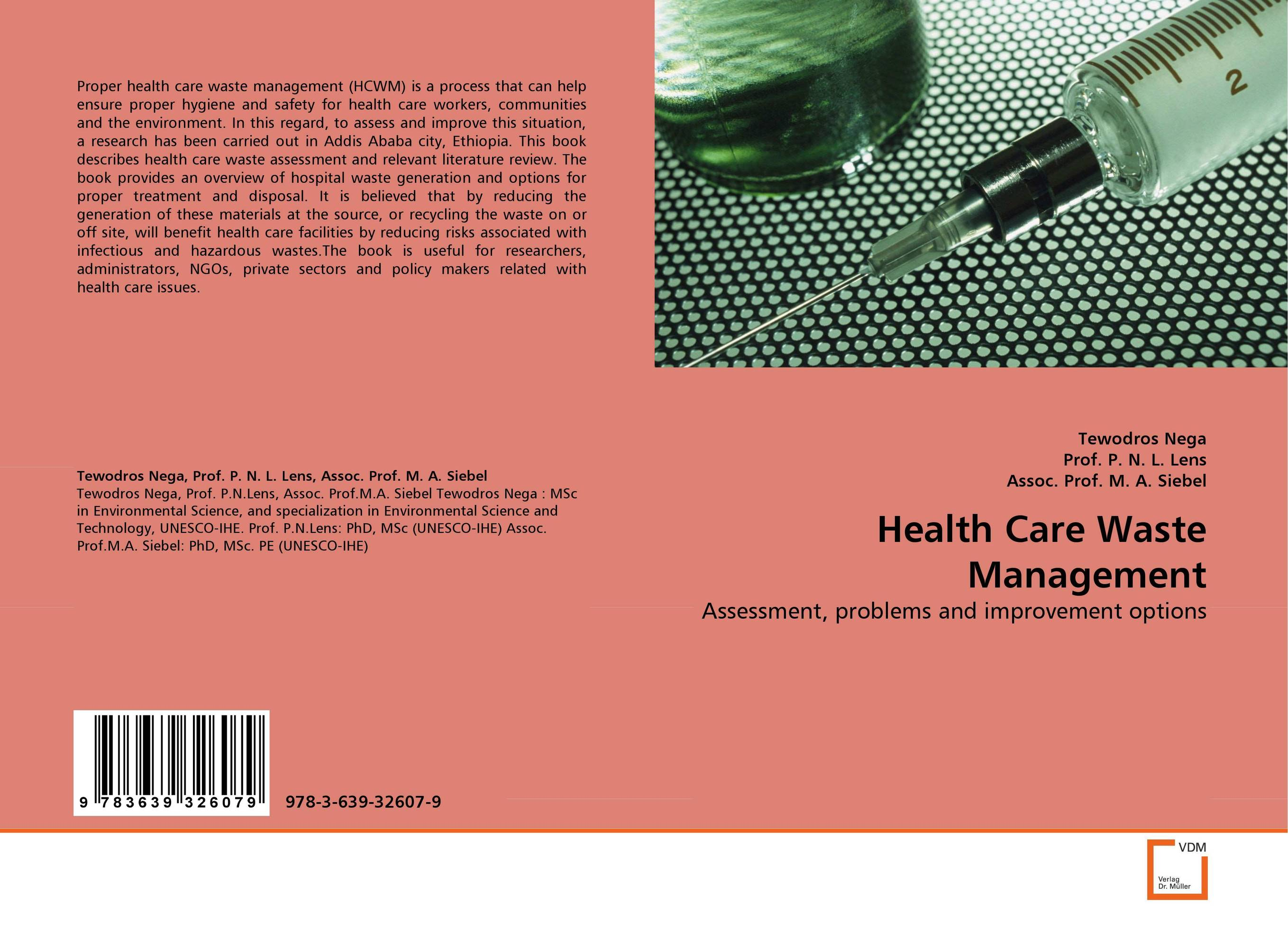 Health Care Waste Management the optimal planning for power generation by waste