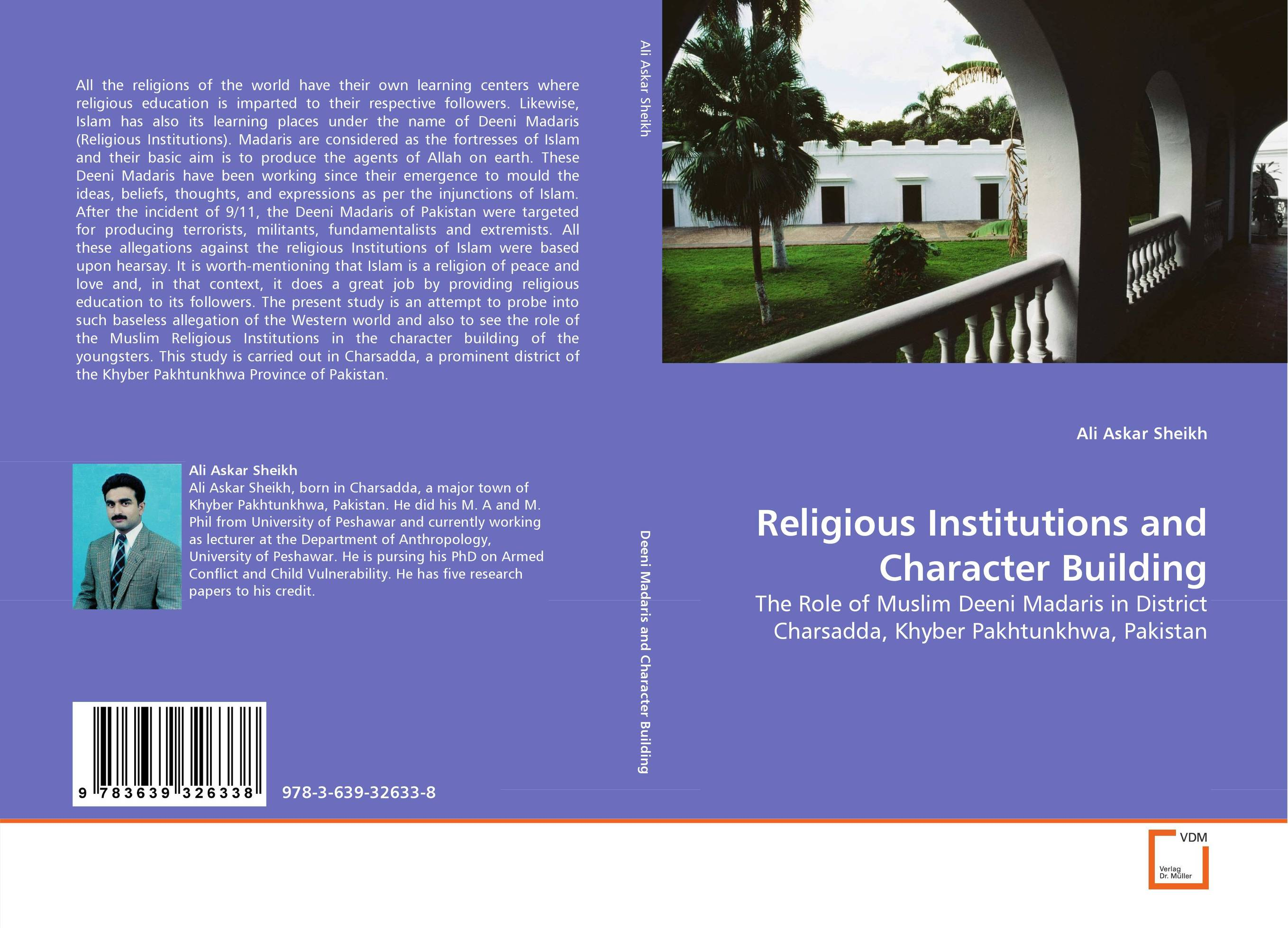 Religious Institutions and Character Building religious institutions and character building