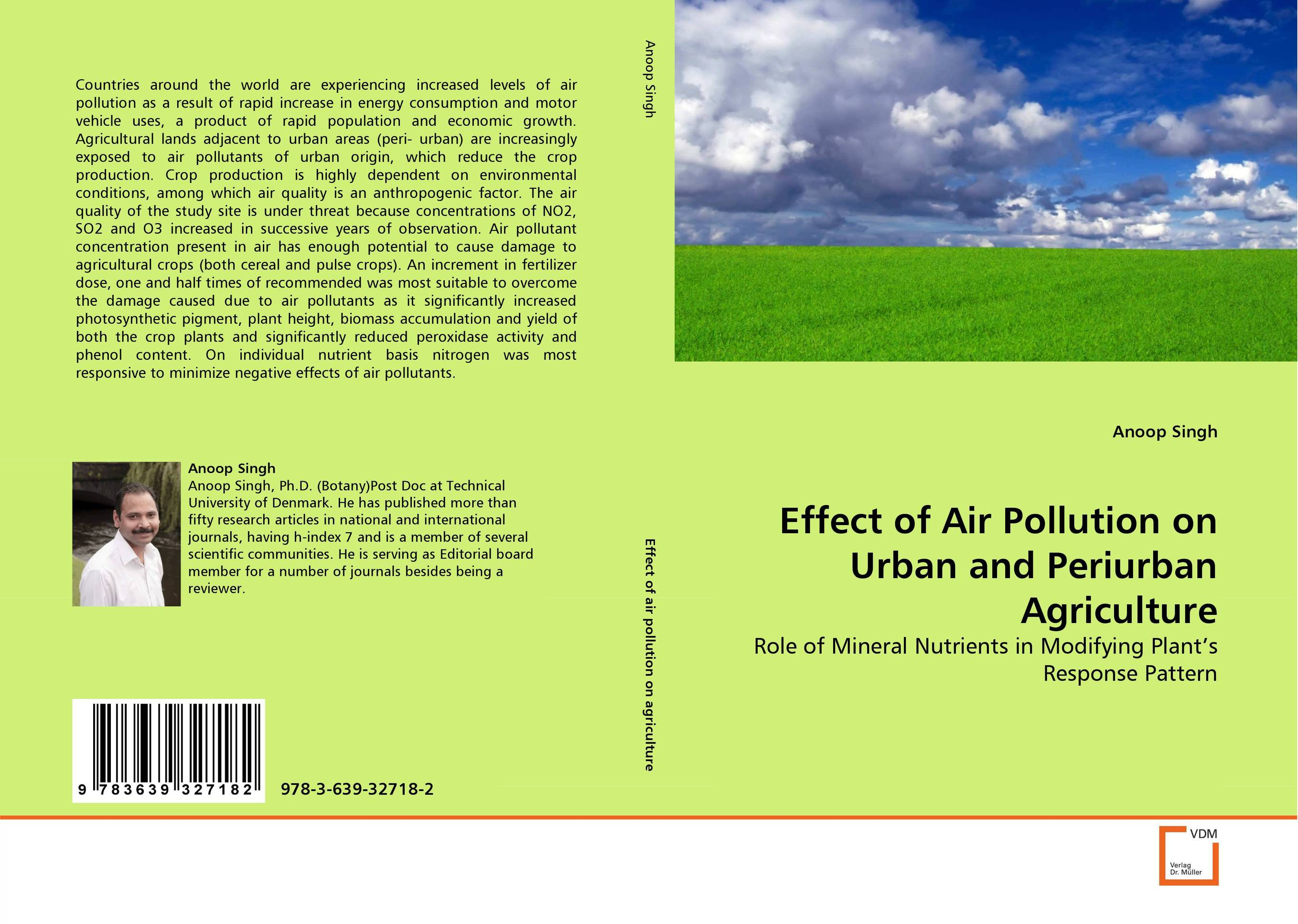 Effect of Air Pollution on Urban and Periurban Agriculture effect of air pollutants on some common plants