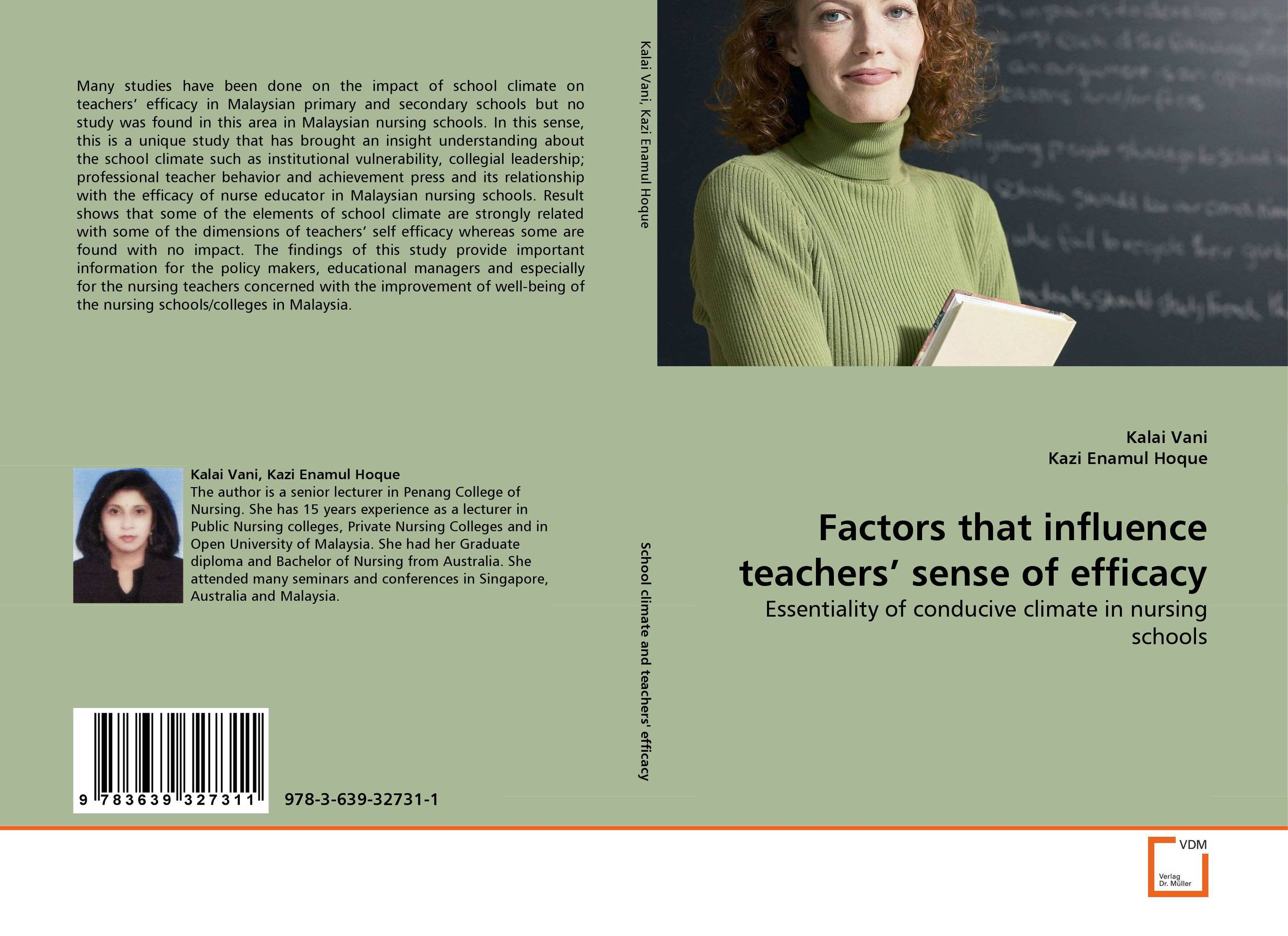 Factors that influence teachers'' sense of efficacy the impact of perceived self efficacy on mathematics