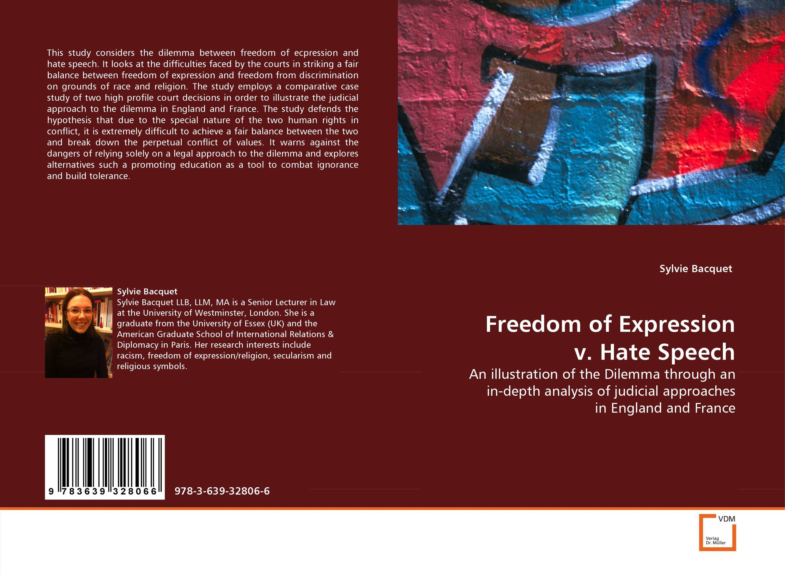 Freedom of Expression v. Hate Speech a subspace approach for speech signal modelling and classification