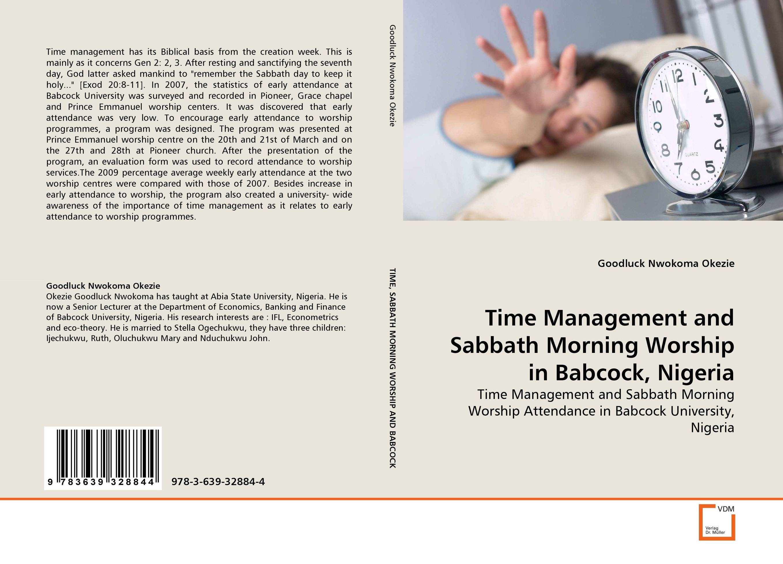 Time Management and Sabbath Morning Worship in Babcock, Nigeria