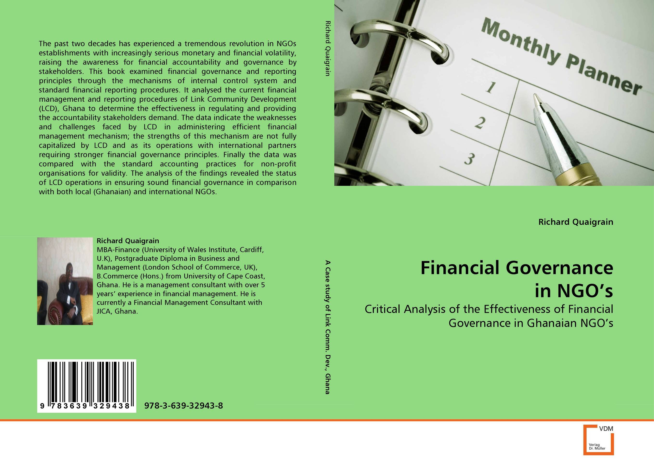 Financial Governance in NGO's