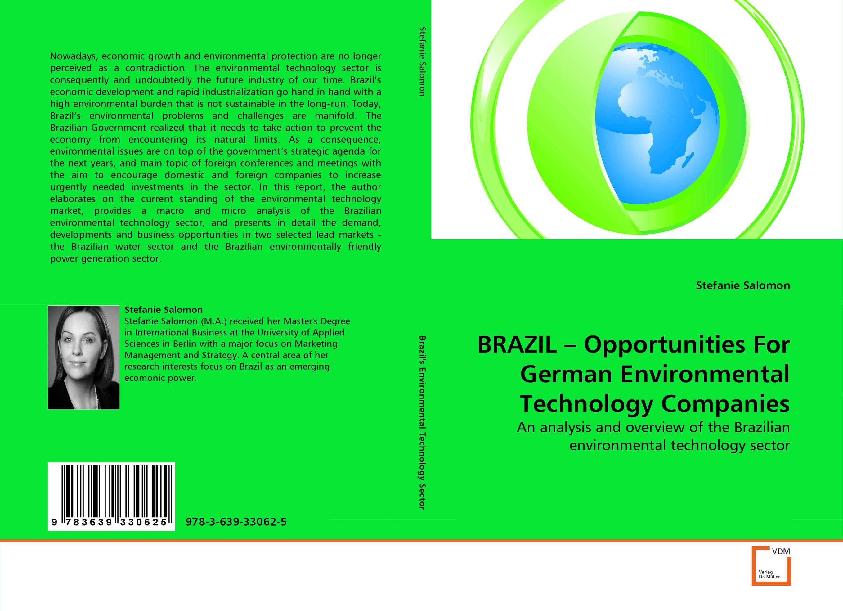 BRAZIL – Opportunities For German Environmental Technology Companies gary beach j the u s technology skills gap what every technology executive must know to save america s future