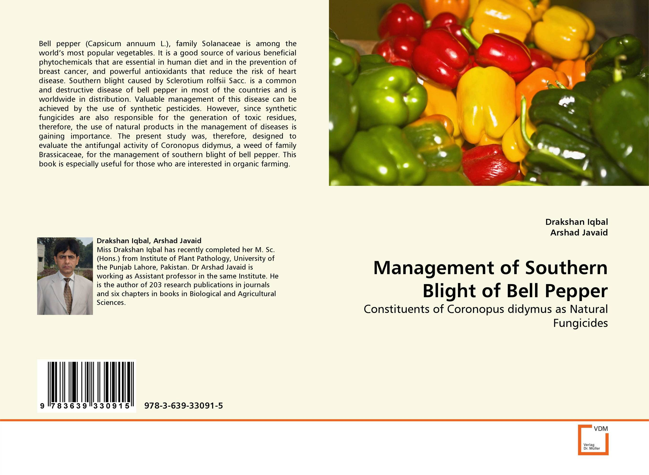 Management of Southern Blight of Bell Pepper patrick p the curious charms of arthur pepper