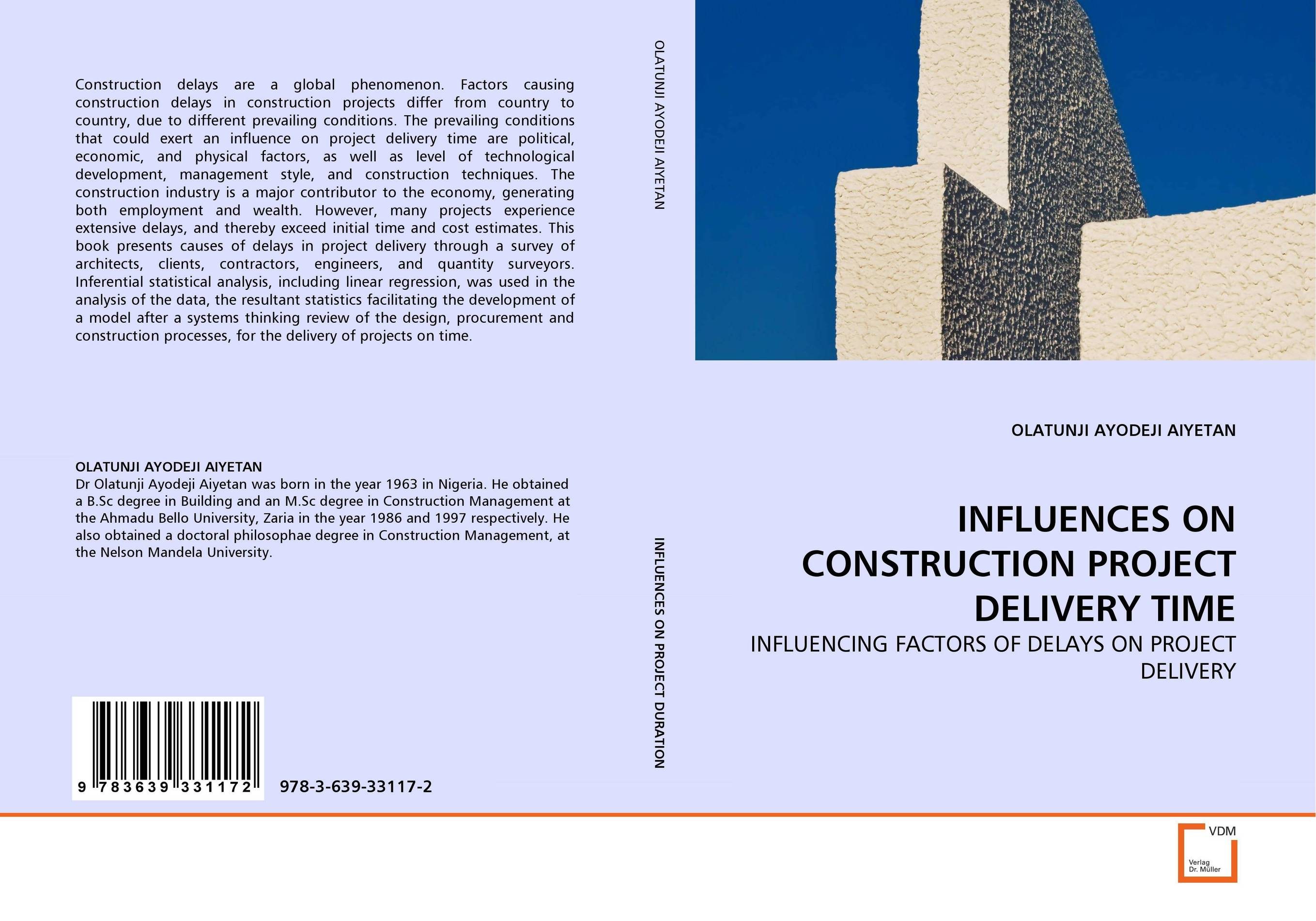 INFLUENCES ON CONSTRUCTION PROJECT DELIVERY TIME construction project delivery in ghana