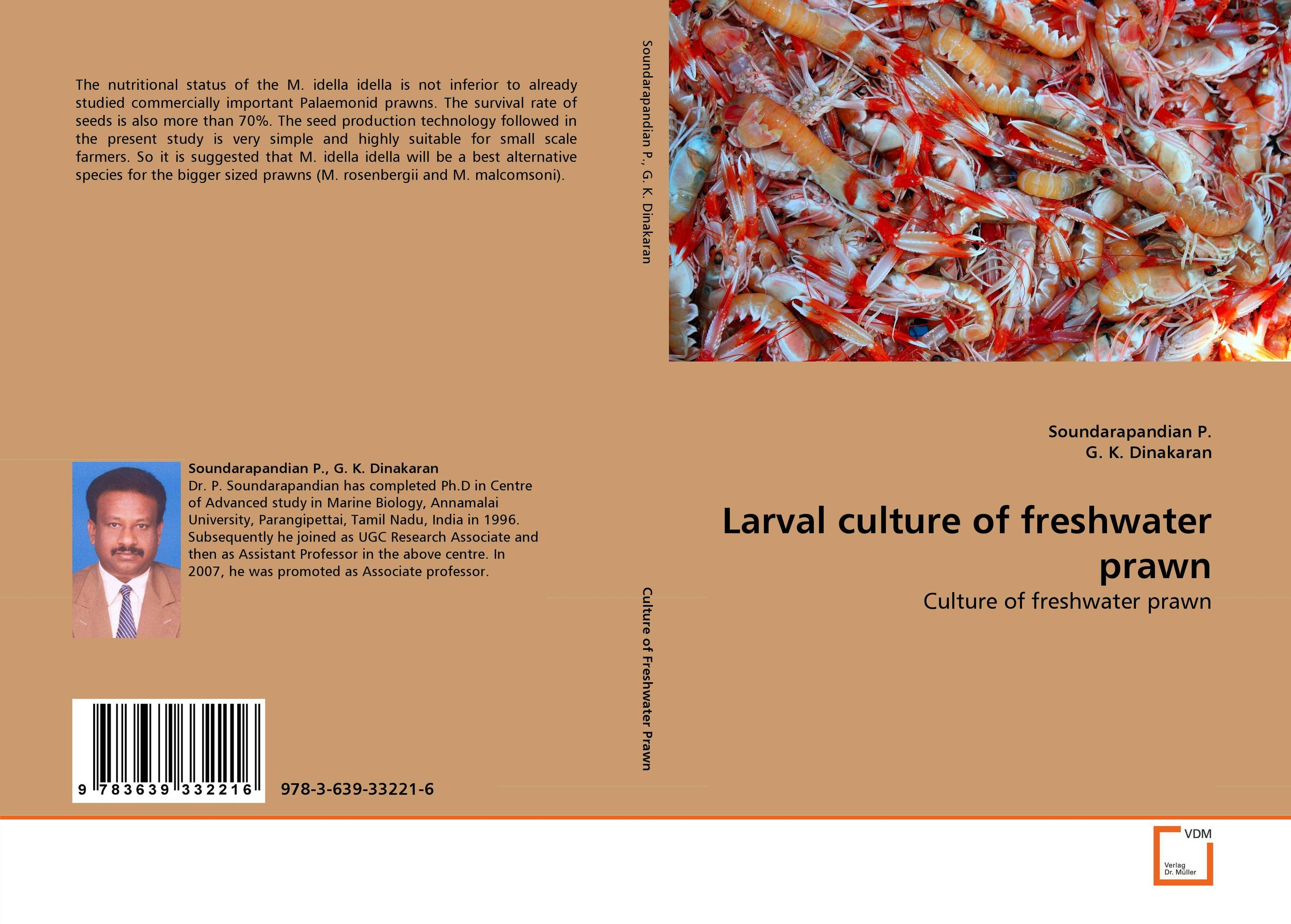 Larval culture of freshwater prawn microbial quality of freshwater prawn