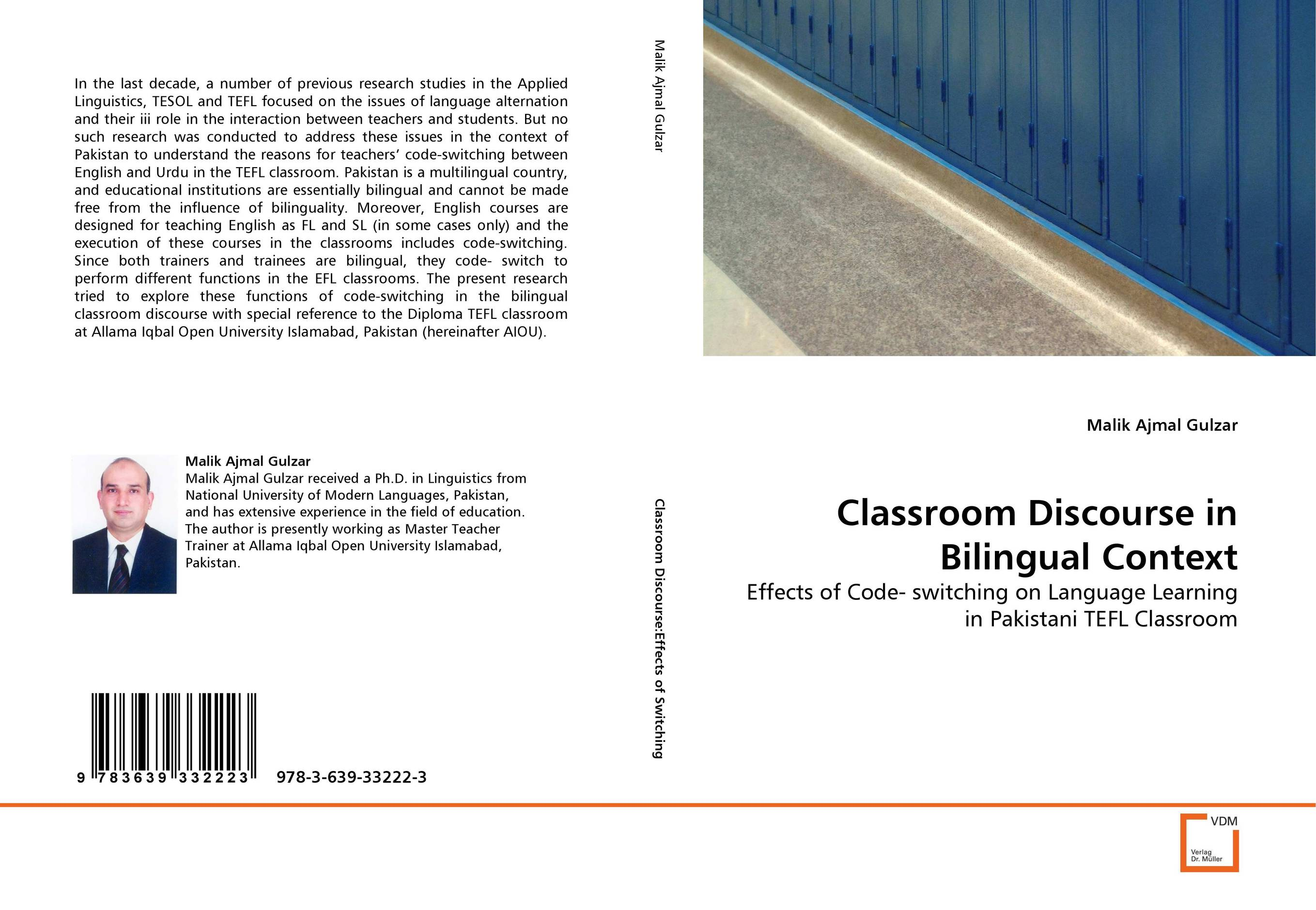 Classroom Discourse in Bilingual Context glynn s hughes handbook of classroom english